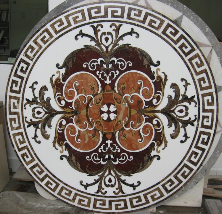 Medalioane decorative pentru pardoseli - Modele Florale SIDORA - Poza 10