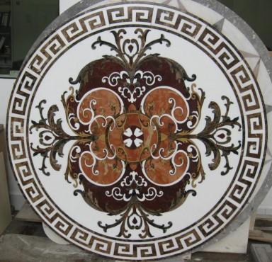 Lucrari, proiecte Medalioane decorative pentru pardoseli - Modele Florale SIDORA - Poza 10