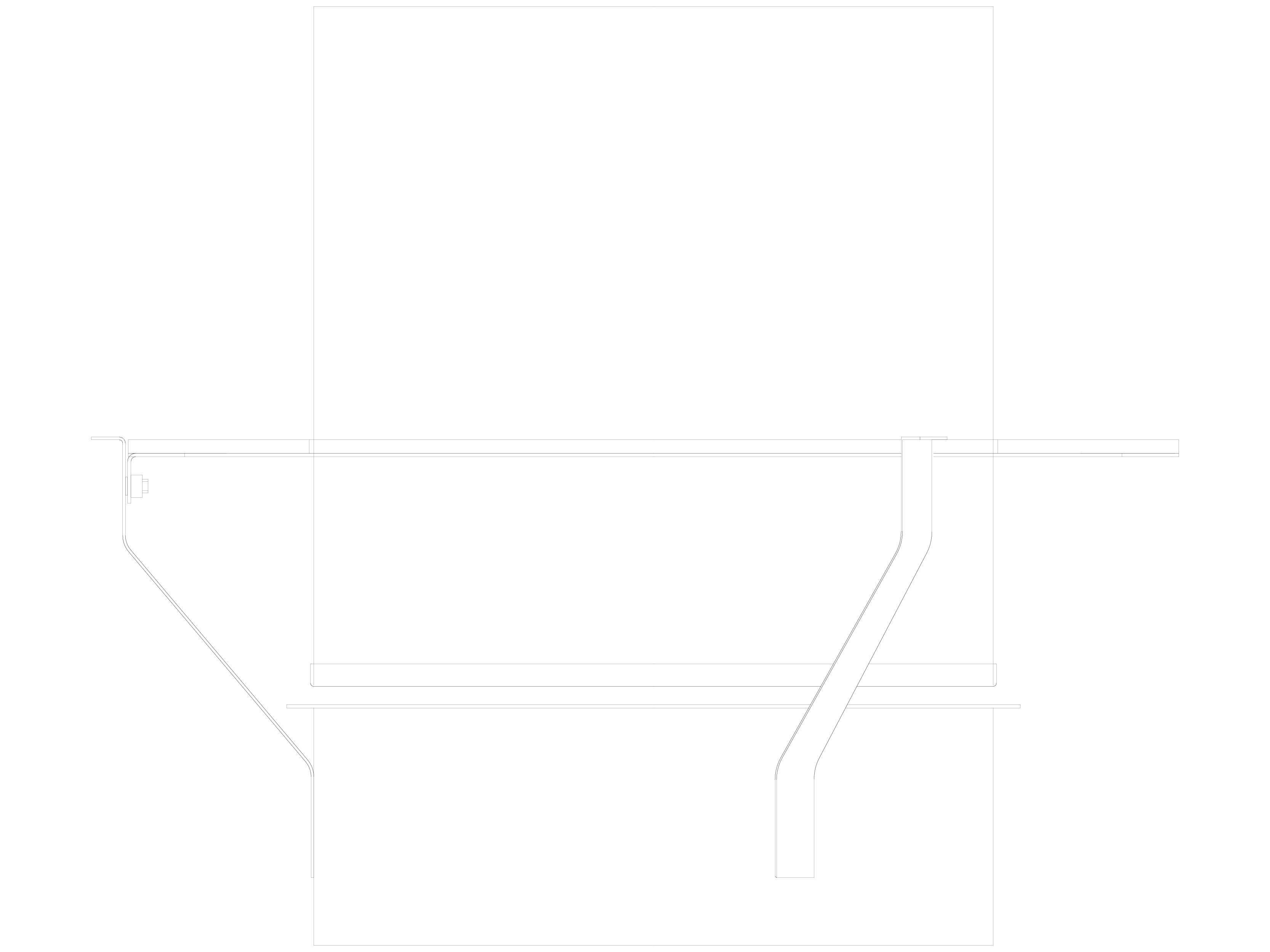 Pagina 1 - CAD-DWG Semineu pe bioetanol - Vedere laterala PLANIKA Detaliu de produs