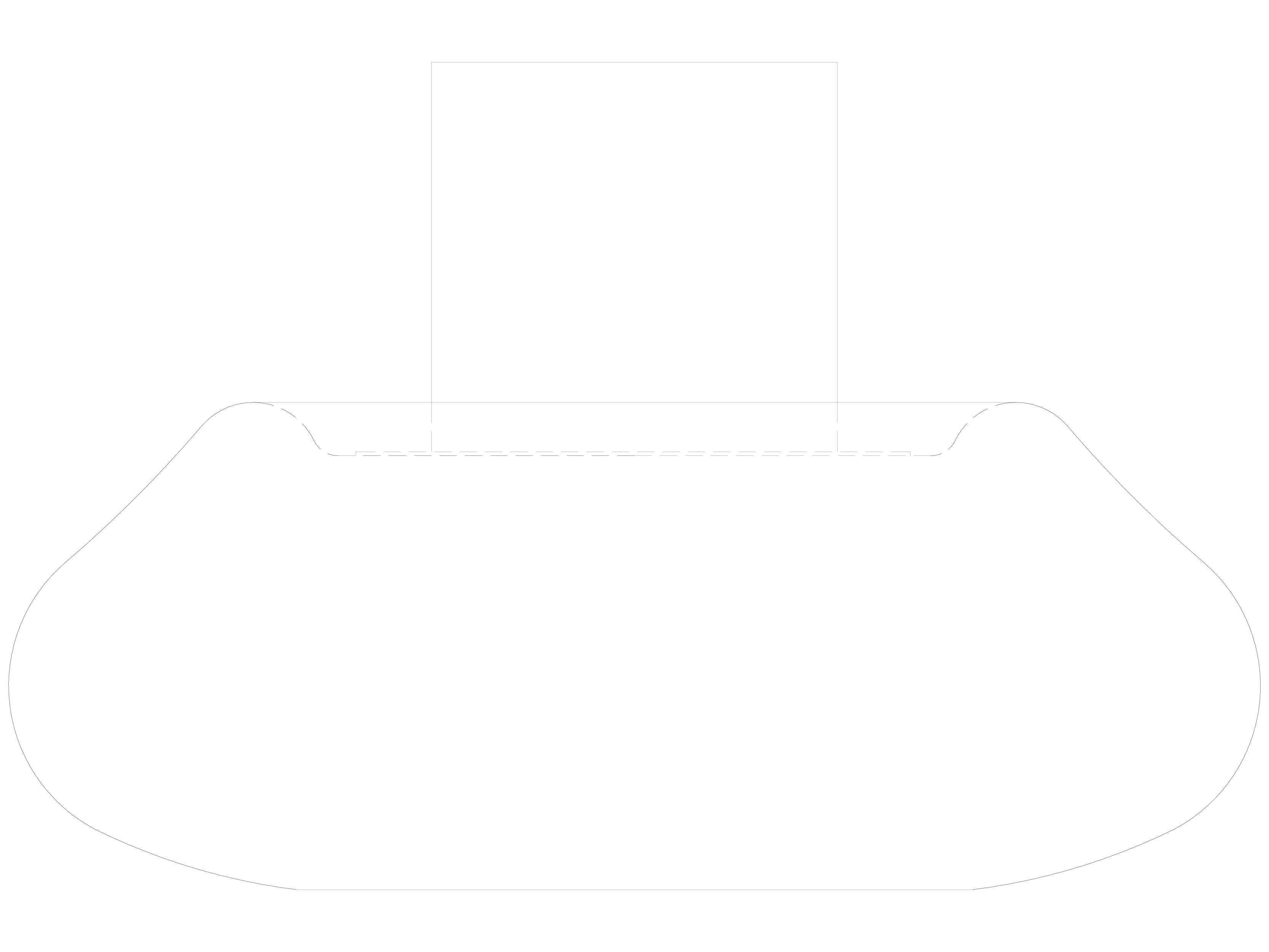 Pagina 1 - CAD-DWG Semineu pe bioetanol pentru exterior - Vedere laterala PLANIKA Detaliu de produs ...