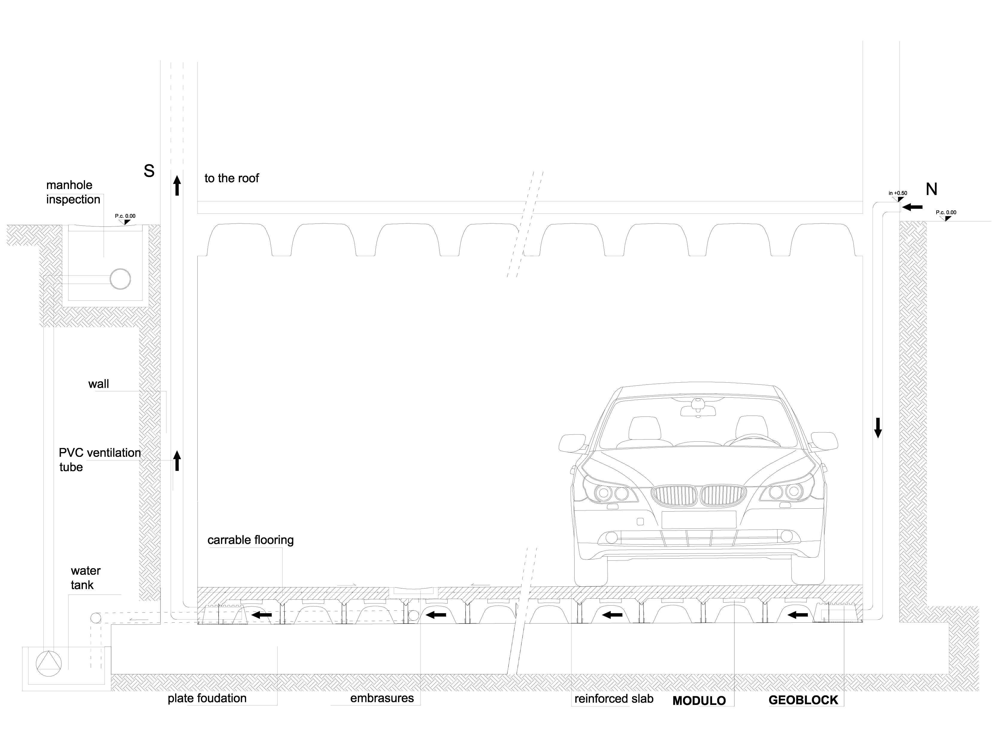 Pagina 1 - CAD-DWG Cofraje pierdute pentru realizarea pardoselilor ventilate - underground car park ...