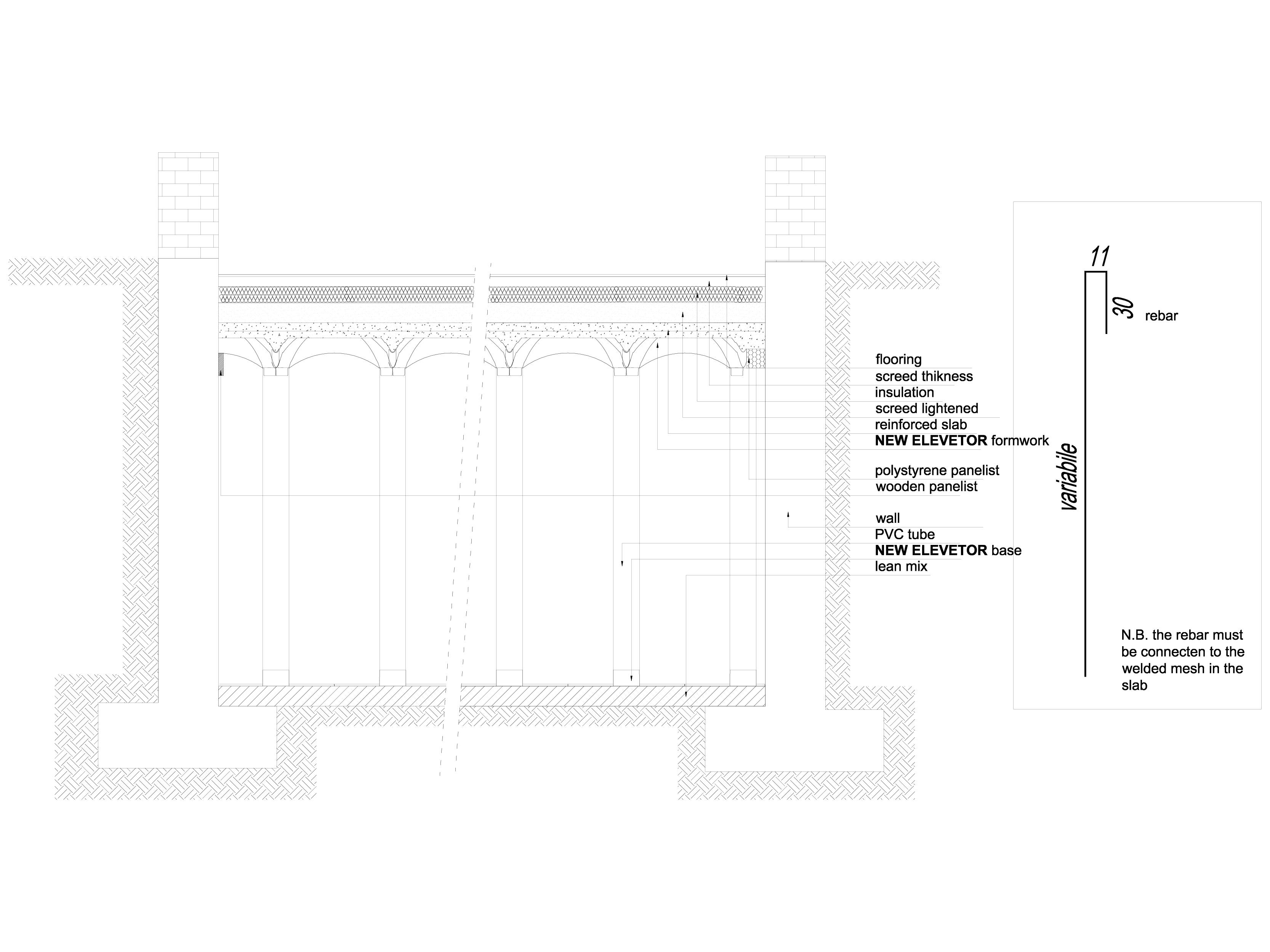 Pagina 1 - CAD-DWG Sistem de cofraje pierdute pentru pardoseli ventilate - Commercial part 1...