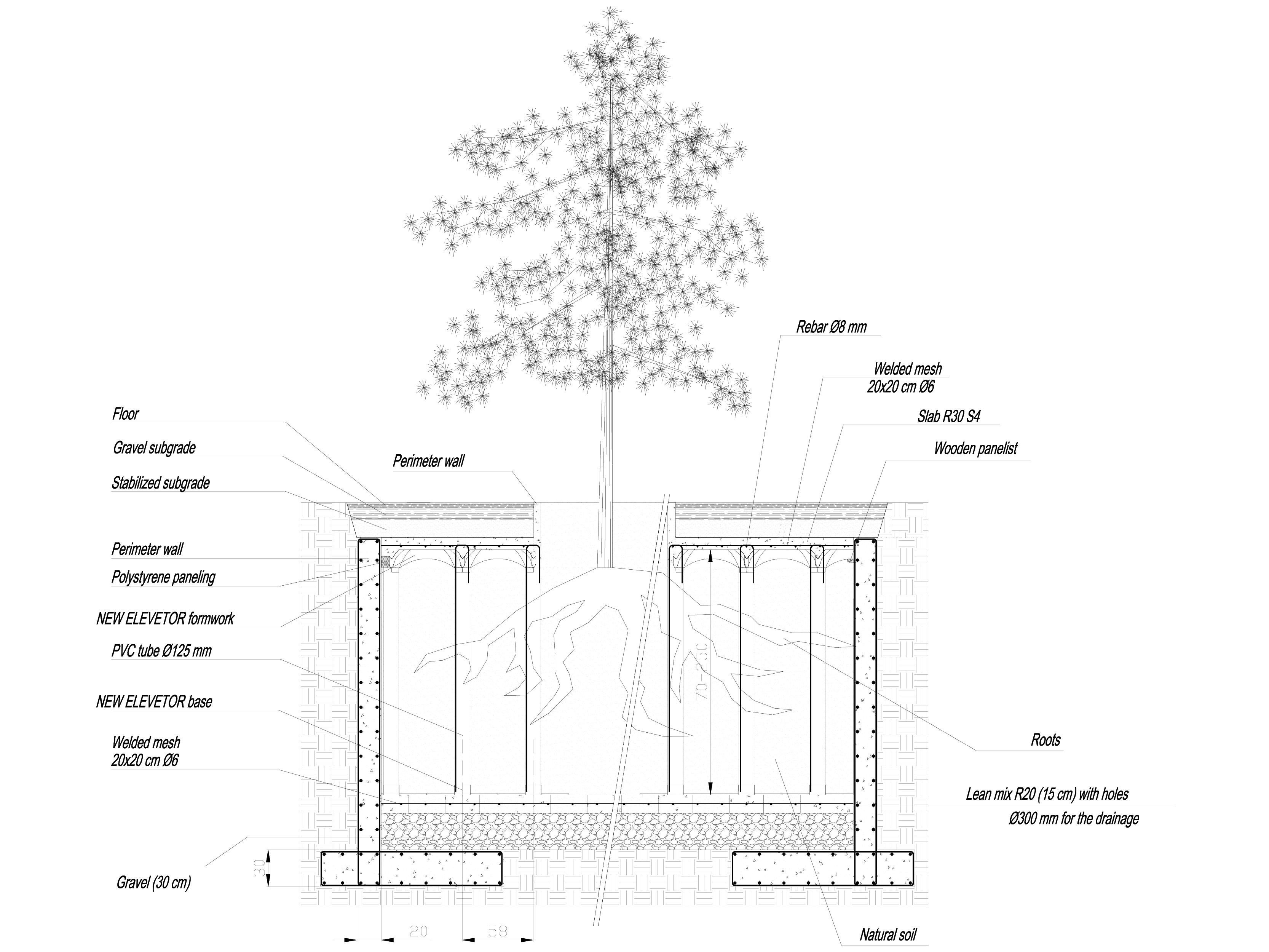 Pagina 1 - CAD-DWG Sistem de cofraje pierdute pentru pardoseli ventilate - Root protection part 1...