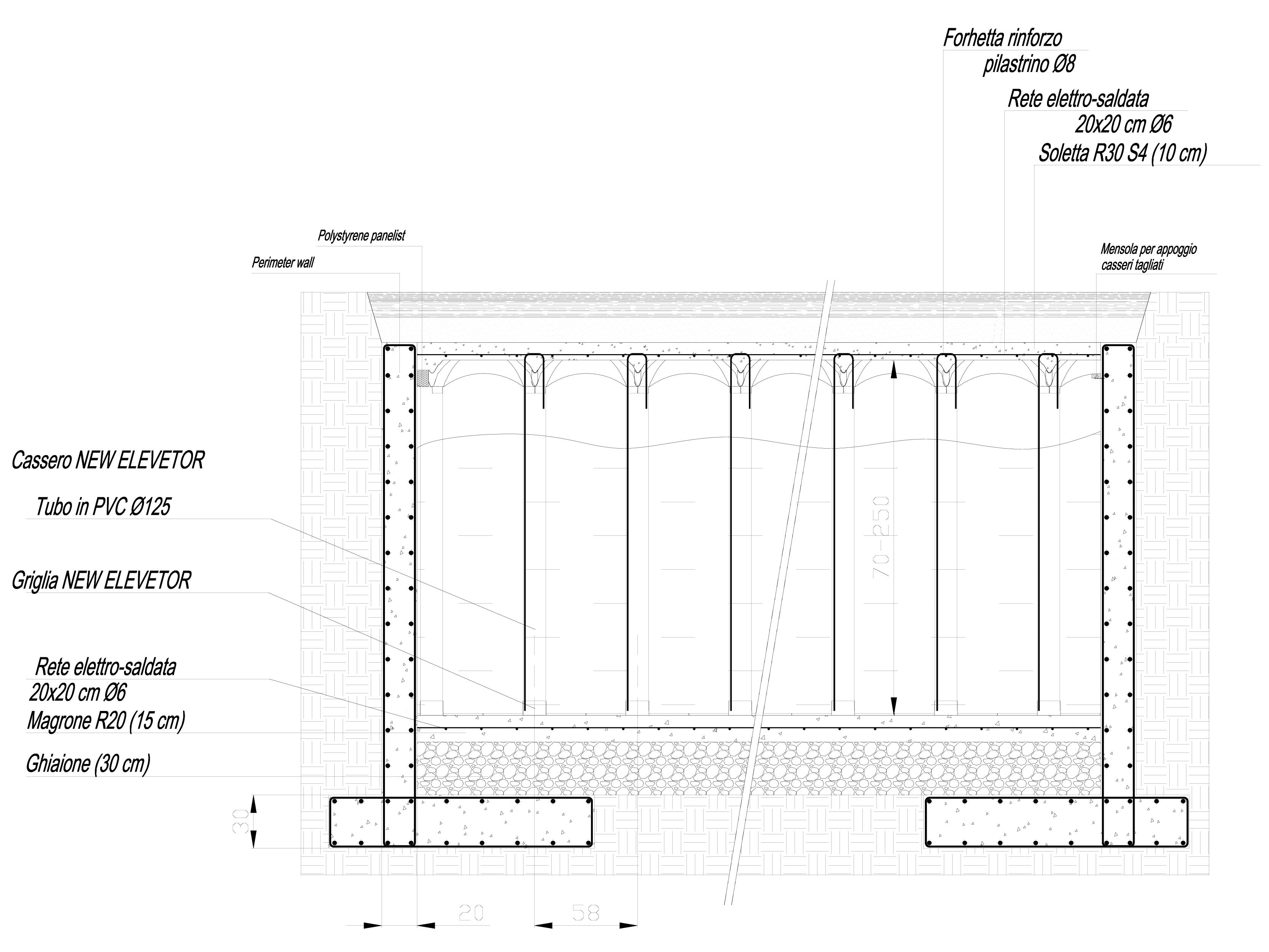 Pagina 1 - CAD-DWG Sistem de cofraje pierdute pentru pardoseli ventilate - Root protection part 2...