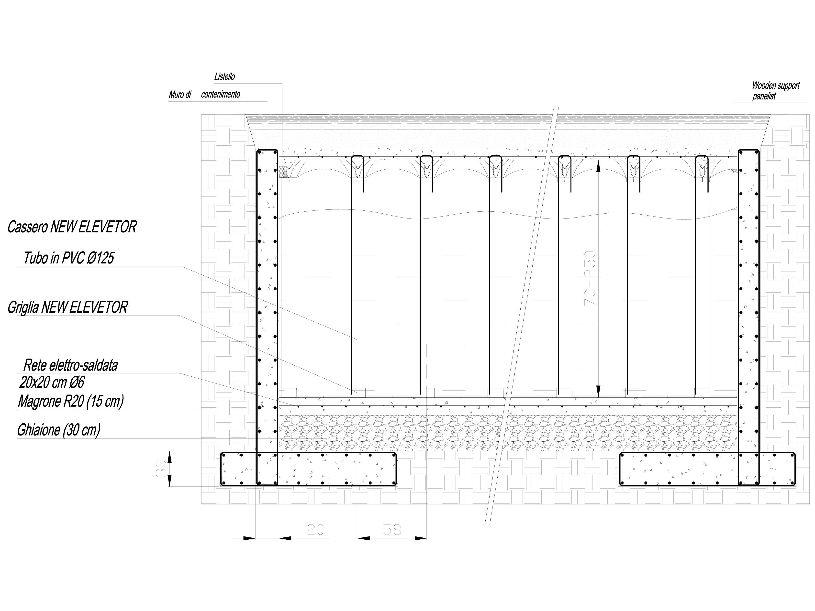 Pagina 1 - CAD-DWG Sistem de cofraje pierdute pentru pardoseli ventilate - Root protection part 3...