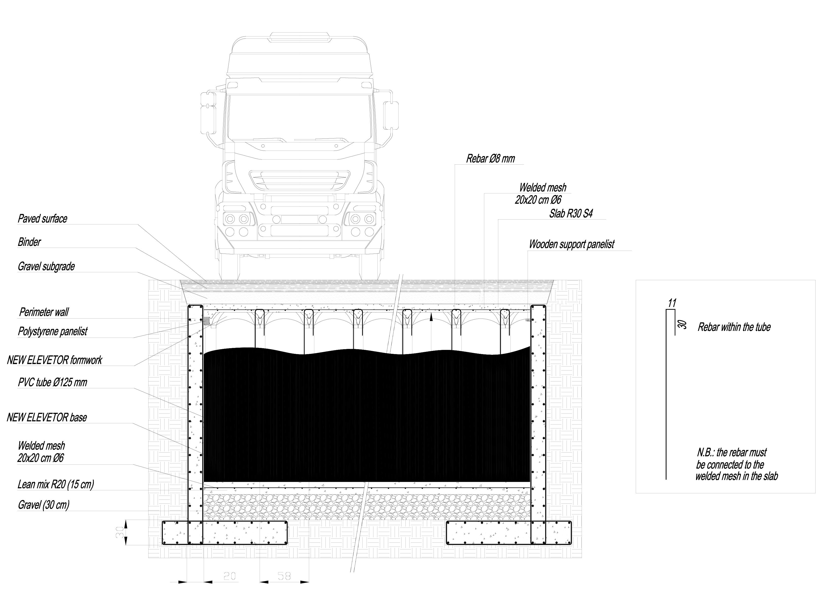 Pagina 1 - CAD-DWG Sistem de cofraje pierdute pentru pardoseli ventilate - Root protection part 4...