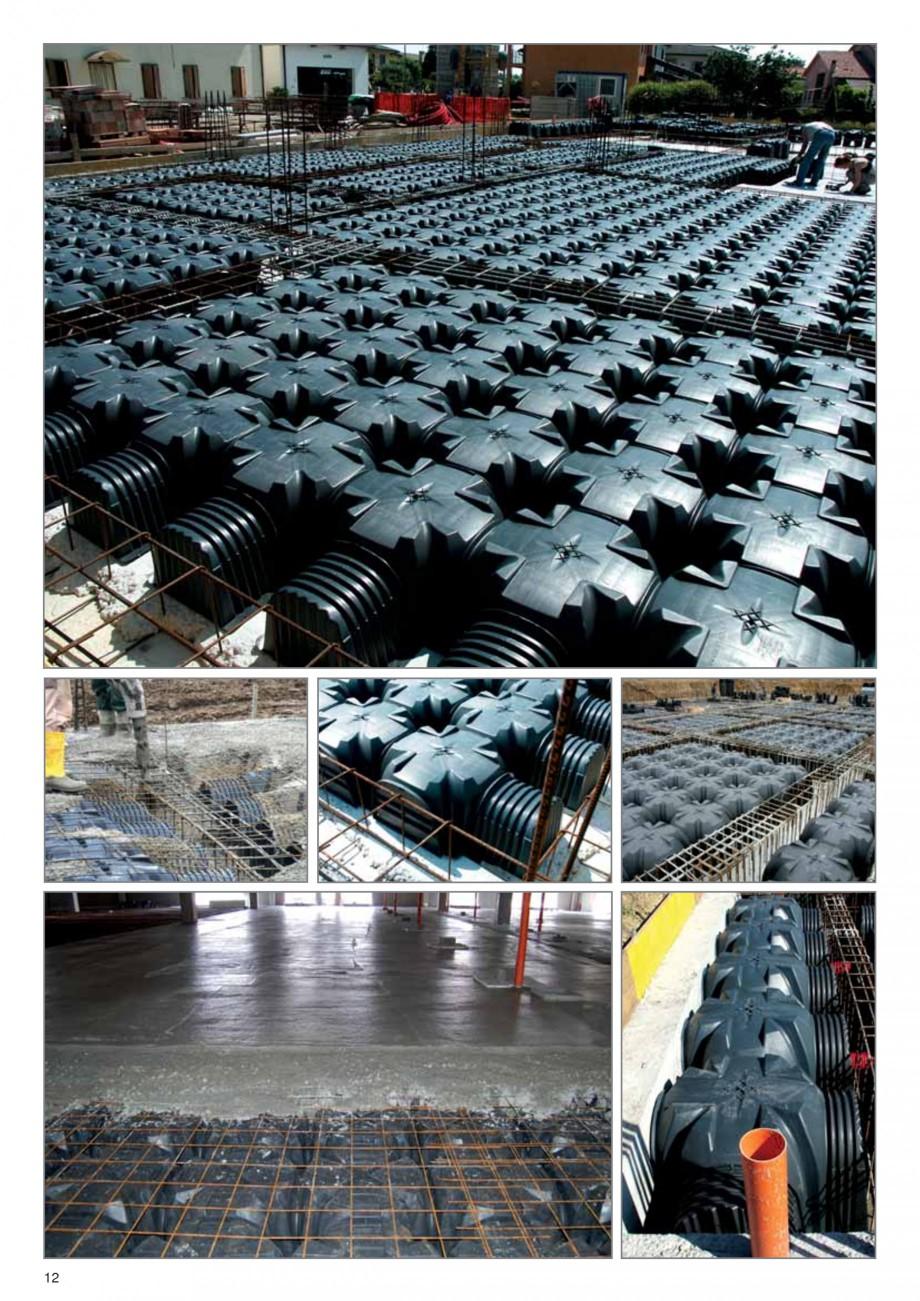 Pagina 8 - Cofraje pierdute pentru realizarea pardoselilor ventilate monolit GEOPLAST MODULO ®...