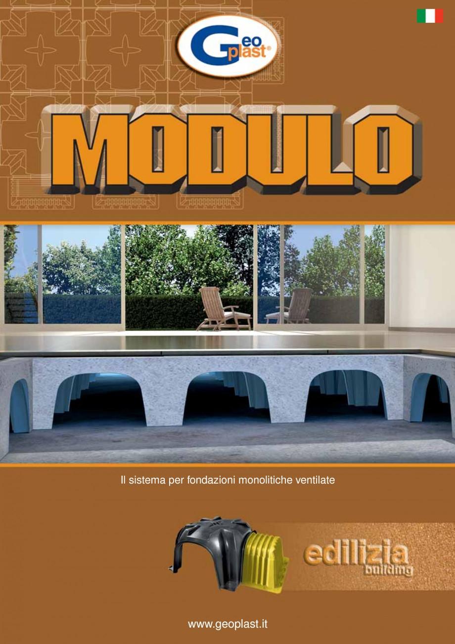 Pagina 1 - Cofraje pierdute pentru realizarea pardoselilor ventilate monolit GEOPLAST MODULO ®...