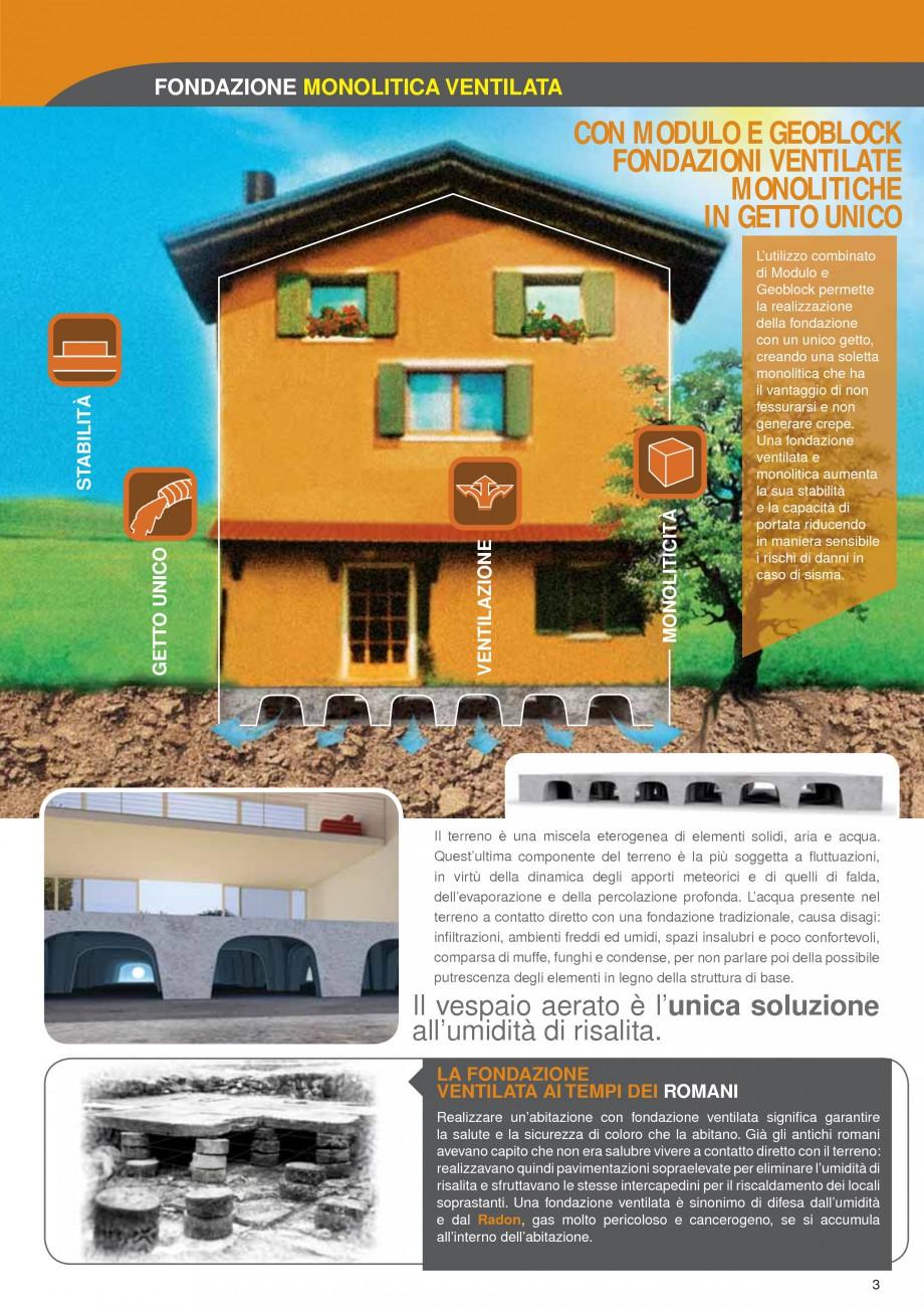 Pagina 3 - Cofraje pierdute pentru realizarea pardoselilor ventilate monolit GEOPLAST MODULO ®...