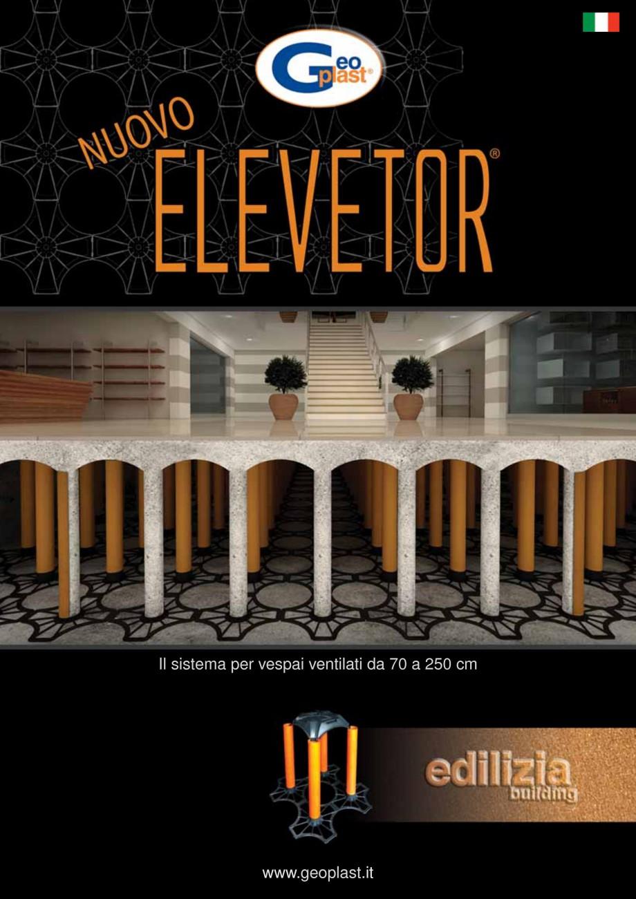 Pagina 1 - Sistem de cofraje pierdute pentru pardoseli ventilate GEOPLAST NEW ELEVETOR ® Catalog...