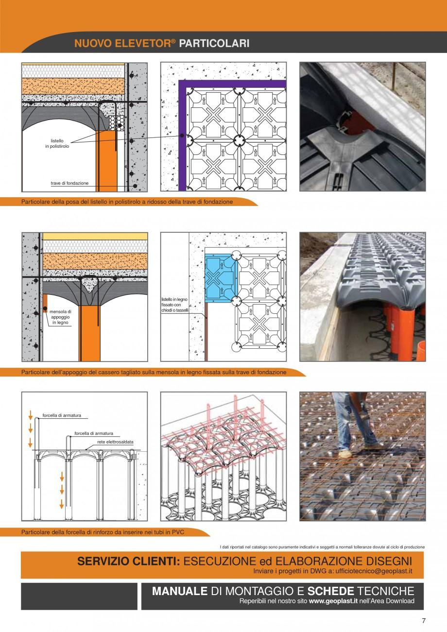 Pagina 7 - Sistem de cofraje pierdute pentru pardoseli ventilate GEOPLAST NEW ELEVETOR ® Catalog...