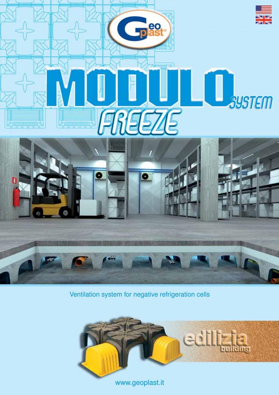 Pagina 1 - Sistem de ventilatie pentru celule frigorifice negative GEOPLAST MODULO ® FREEZE...
