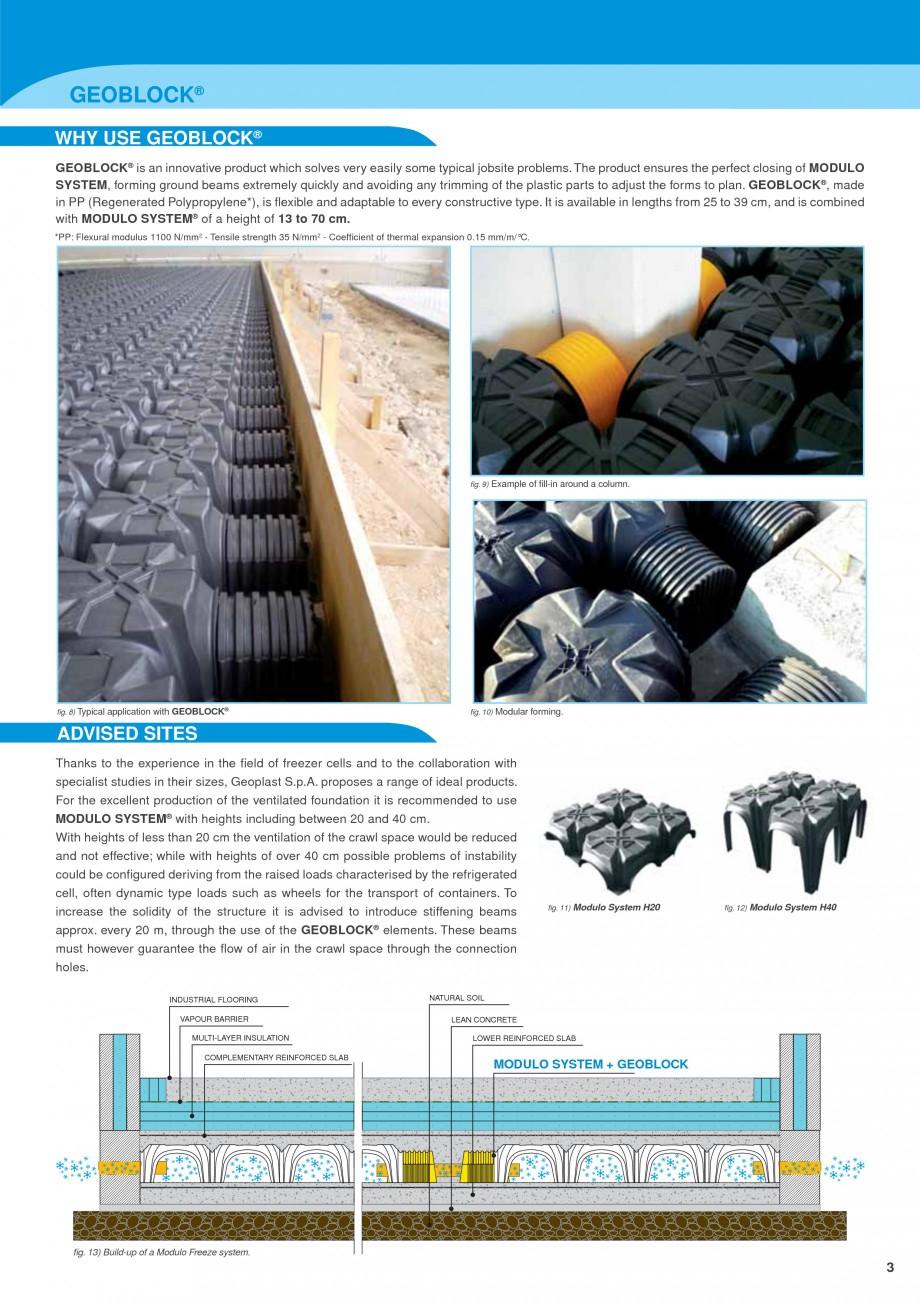 Pagina 3 - Sistem de ventilatie pentru celule frigorifice negative GEOPLAST MODULO ® FREEZE...