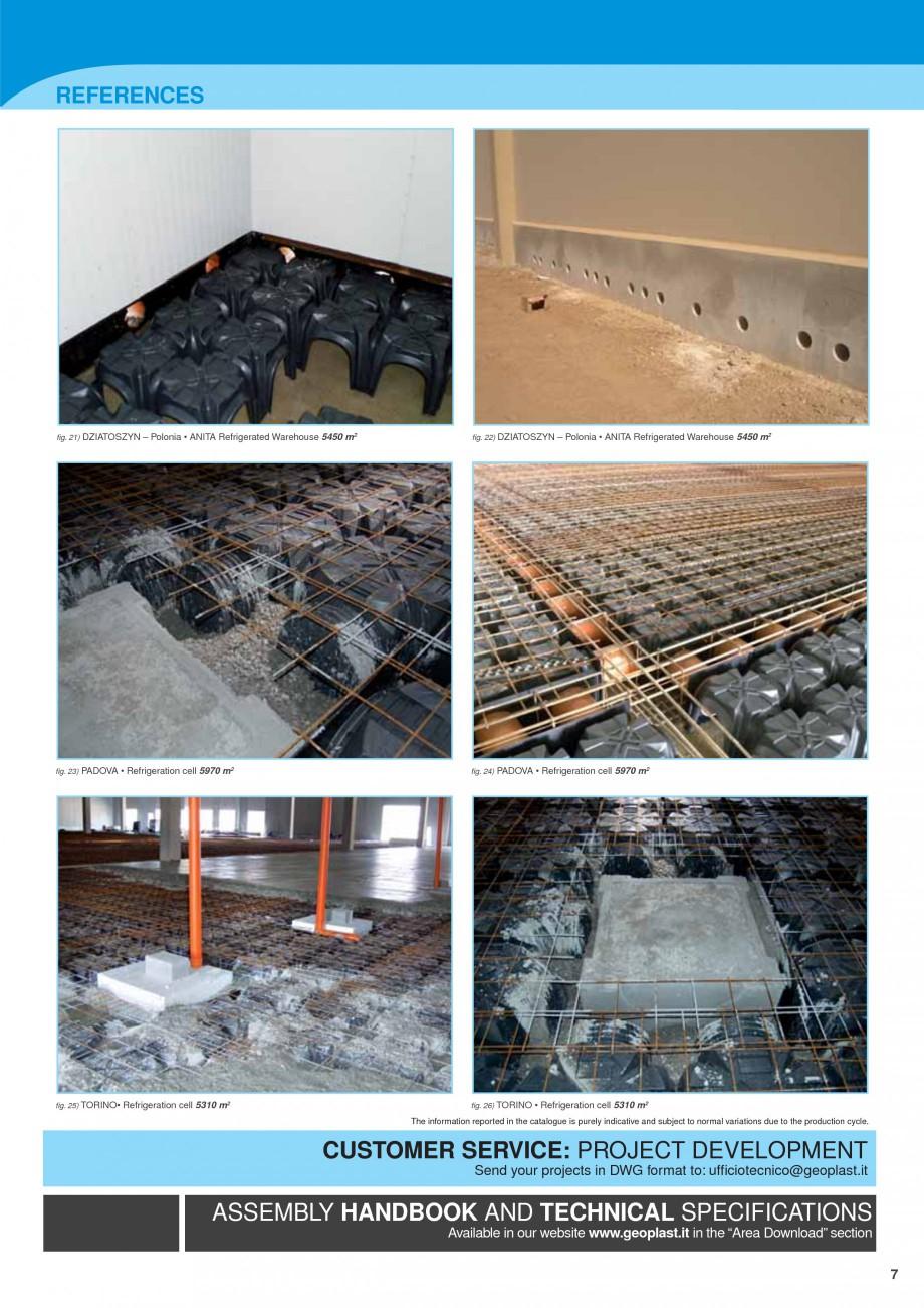 Pagina 7 - Sistem de ventilatie pentru celule frigorifice negative GEOPLAST MODULO ® FREEZE...