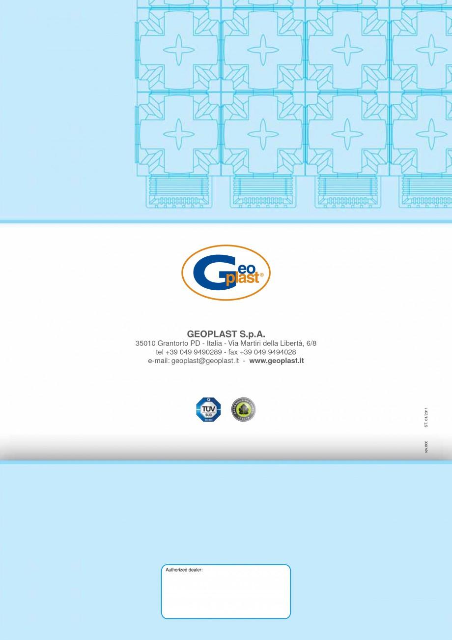 Pagina 8 - Sistem de ventilatie pentru celule frigorifice negative GEOPLAST MODULO ® FREEZE...