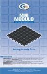 Cofraj pierdut din material plastic GEOPLAST - MINIMODULO ®
