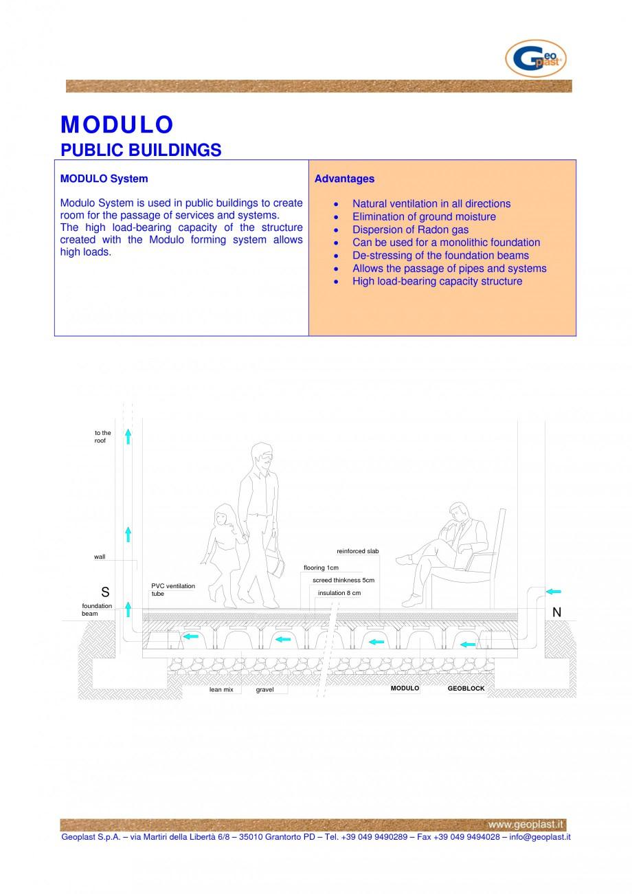 Pagina 1 - Cofraje pierdute pentru realizarea pardoselilor ventilate monolitice - Cladiri publice...