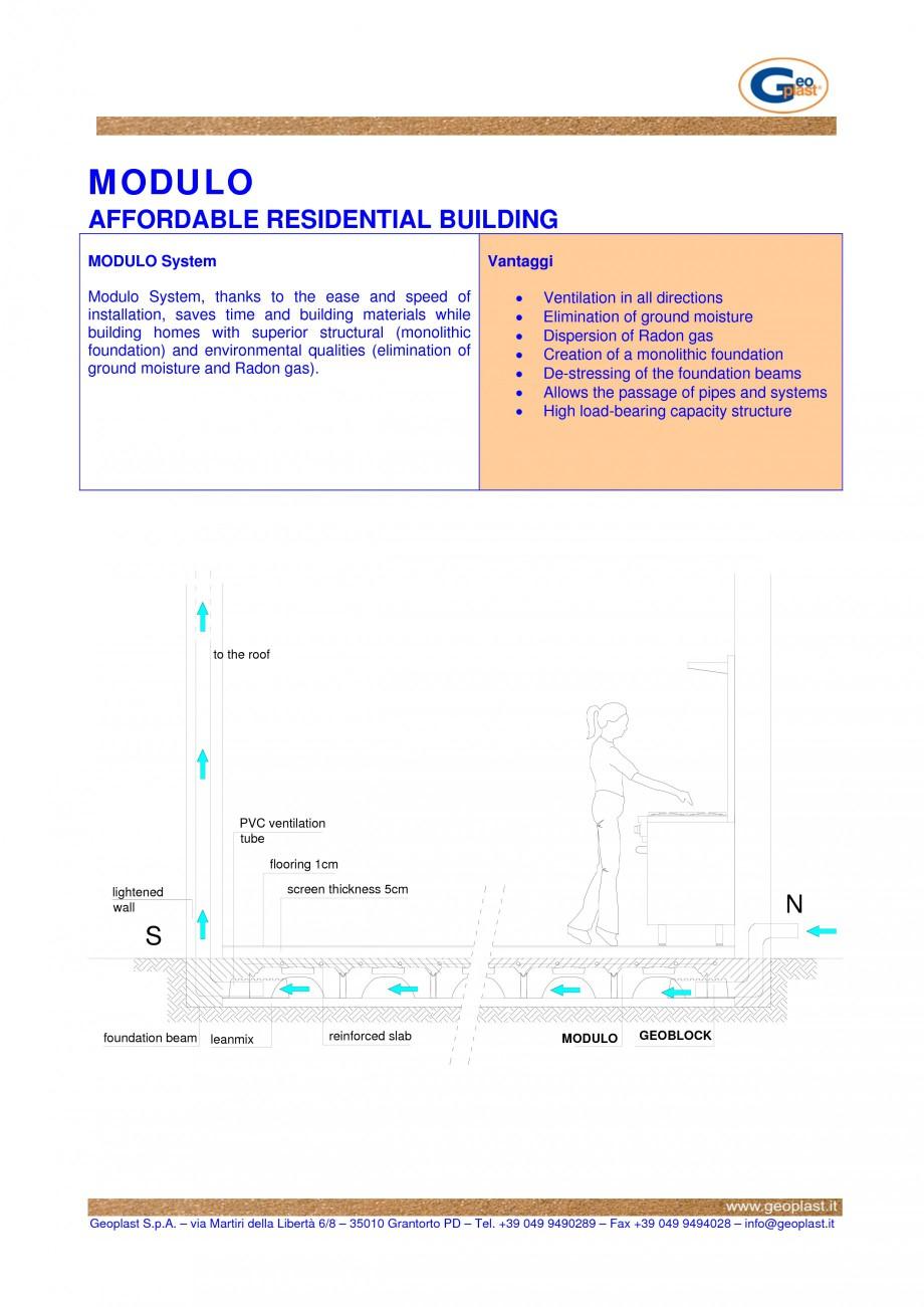 Pagina 1 - Cofraje pierdute pentru realizarea pardoselilor ventilate monolitice - Cladiri...