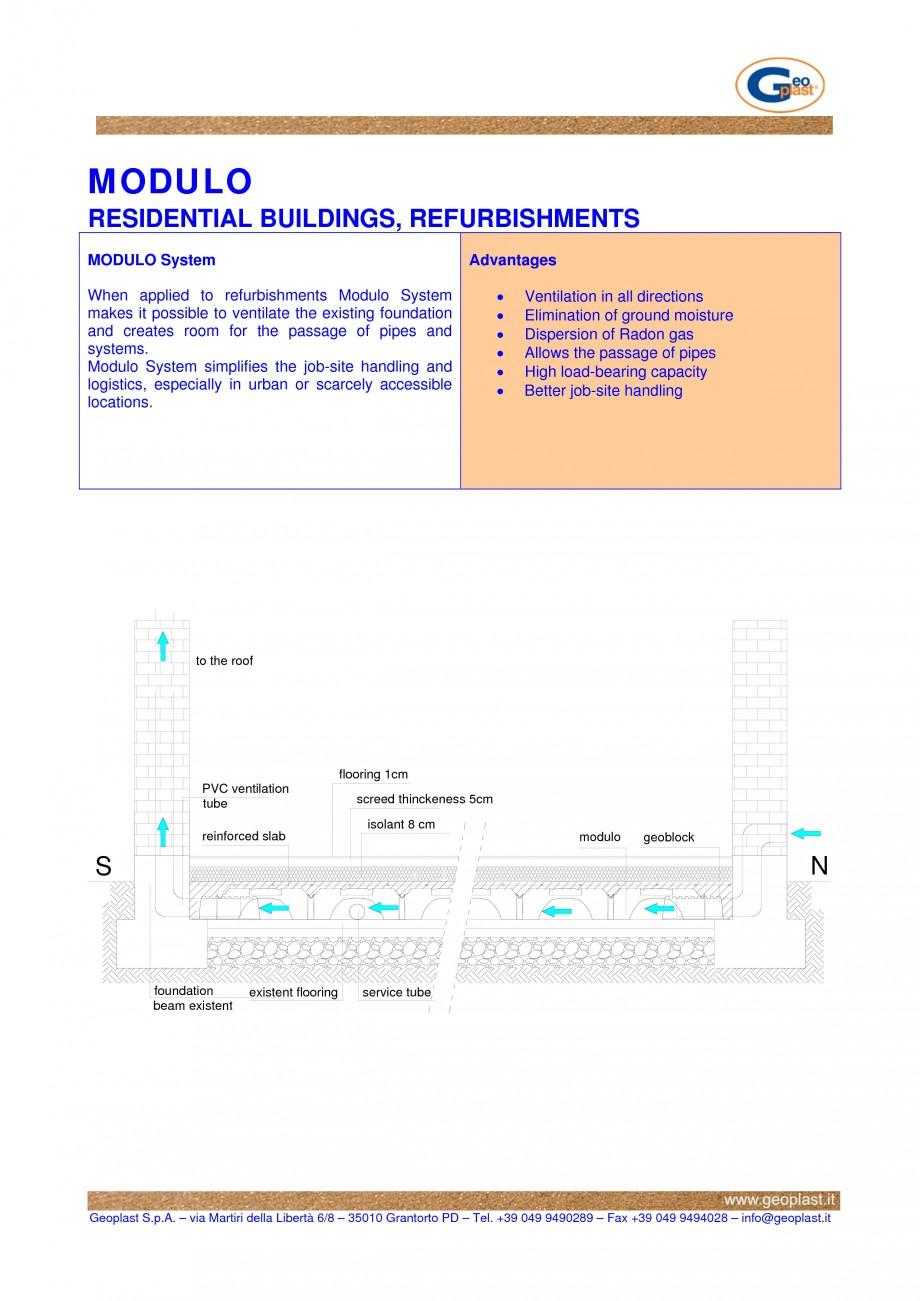 Pagina 1 - Cofraje pierdute pentru realizarea pardoselilor ventilate monolitice - Renovari pentru...