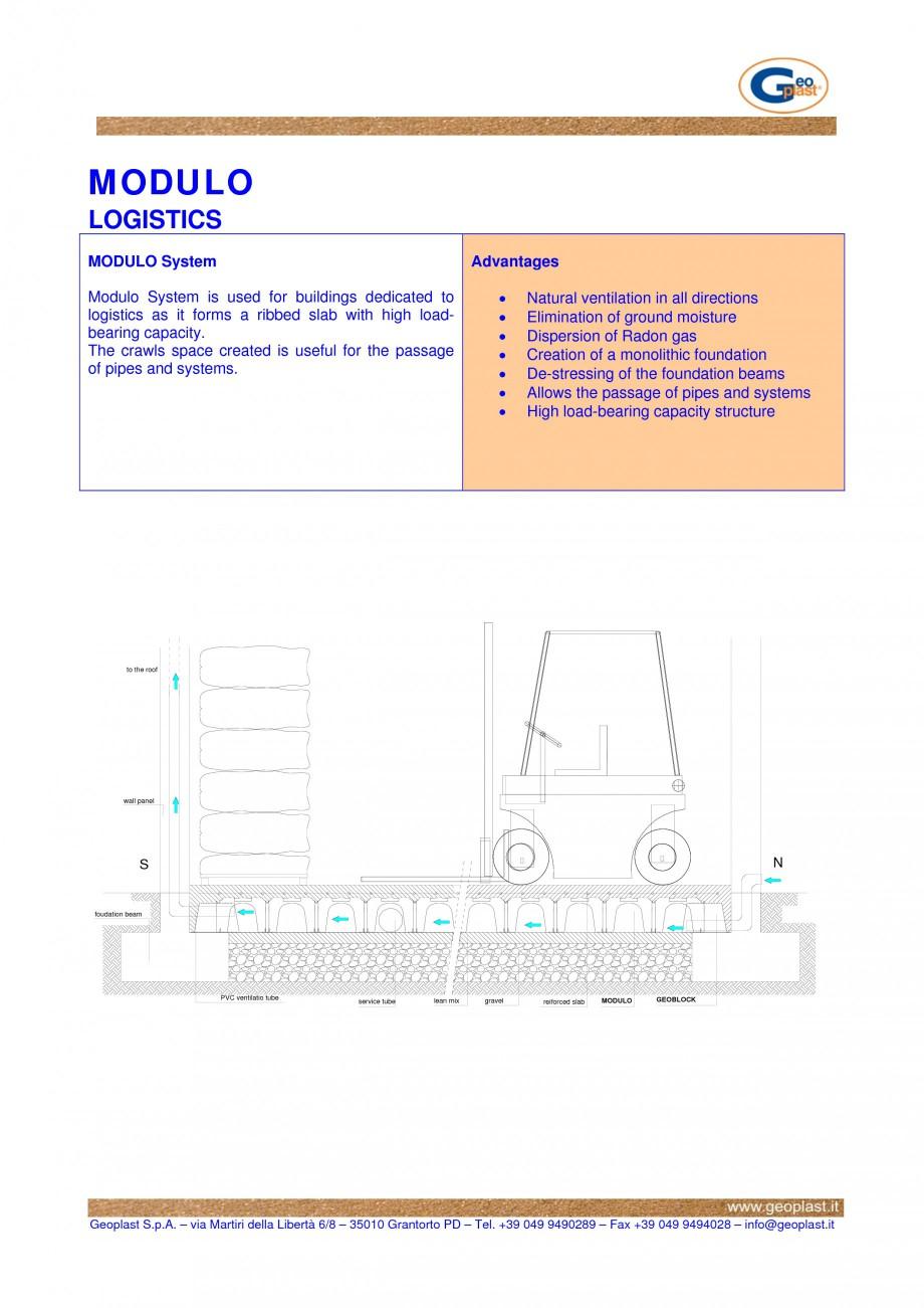 Pagina 1 - Cofraje pierdute pentru realizarea pardoselilor ventilate monolitice - Spatii de...