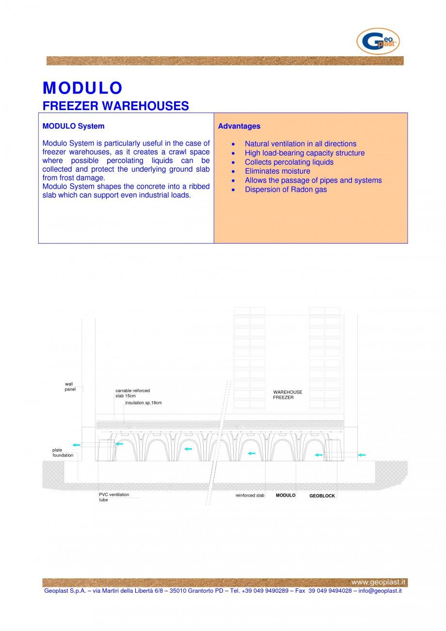 Pagina 1 - Sistem de cofraje pierdute pentru realizarea pardoselilor ventilatede la celule...