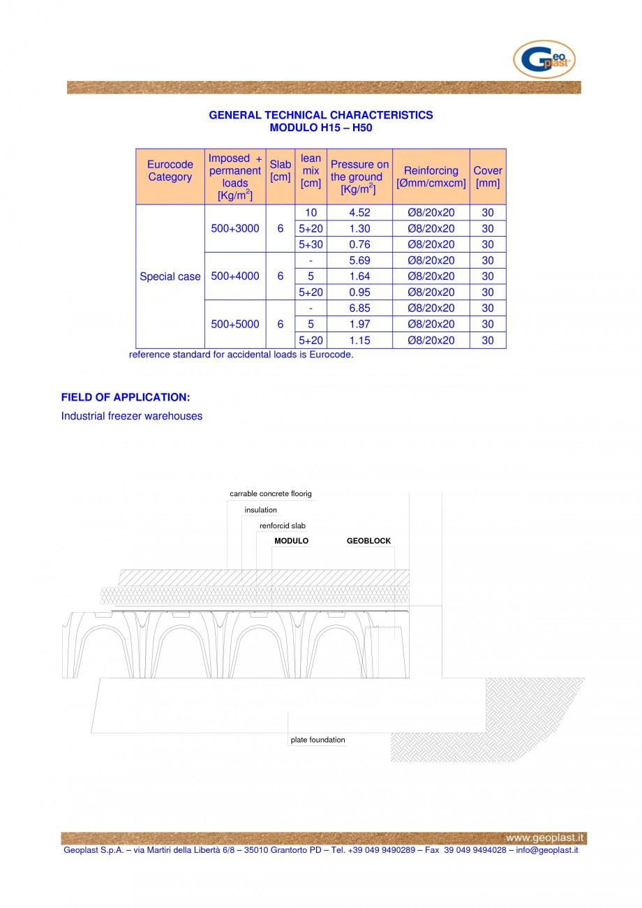 Pagina 2 - Sistem de cofraje pierdute pentru realizarea pardoselilor ventilatede la celule...