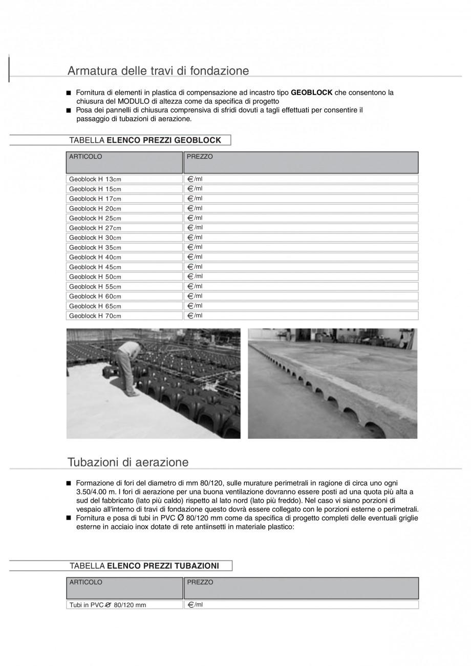 Pagina 11 - Cofraje pierdute pentru realizarea pardoselilor ventilate monolit GEOPLAST MODULO ® ...