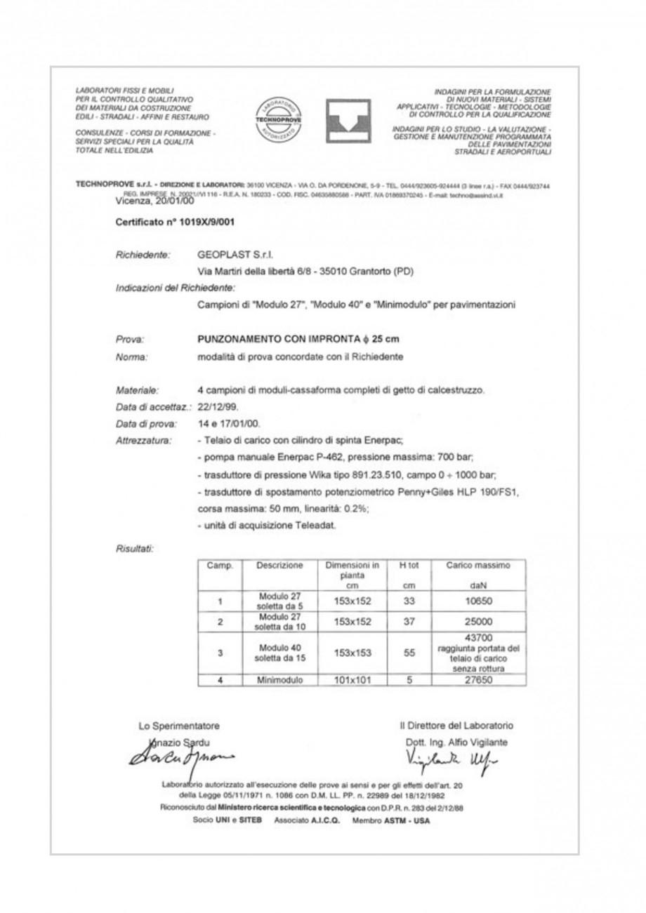 Pagina 14 - Cofraje pierdute pentru realizarea pardoselilor ventilate monolit GEOPLAST MODULO ® ...