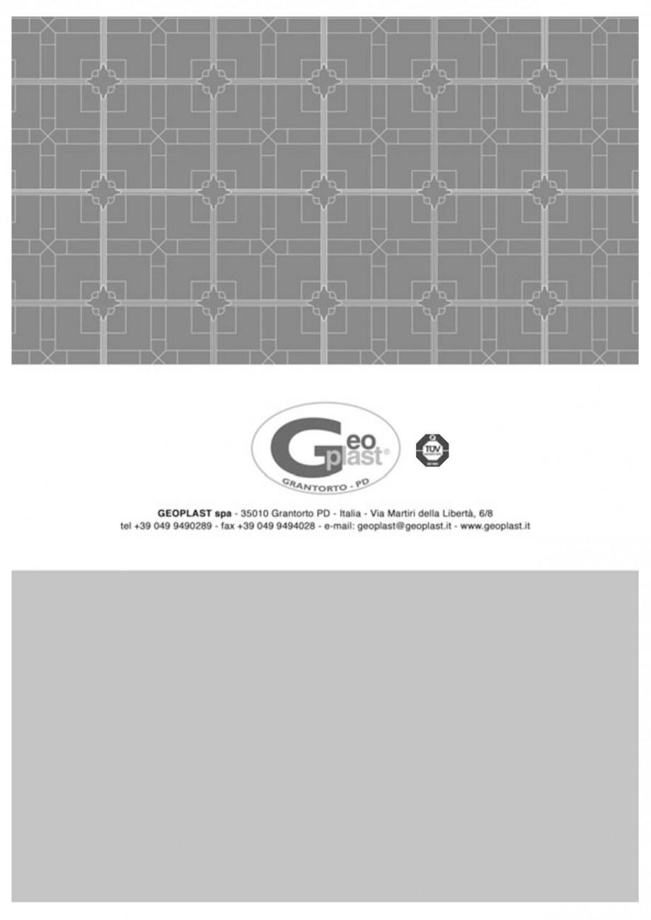 Pagina 18 - Cofraje pierdute pentru realizarea pardoselilor ventilate monolit GEOPLAST MODULO ® ...