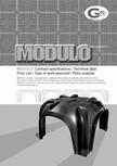 Cofraje pierdute pentru realizarea pardoselilor ventilate monolit GEOPLAST - MODULO ®