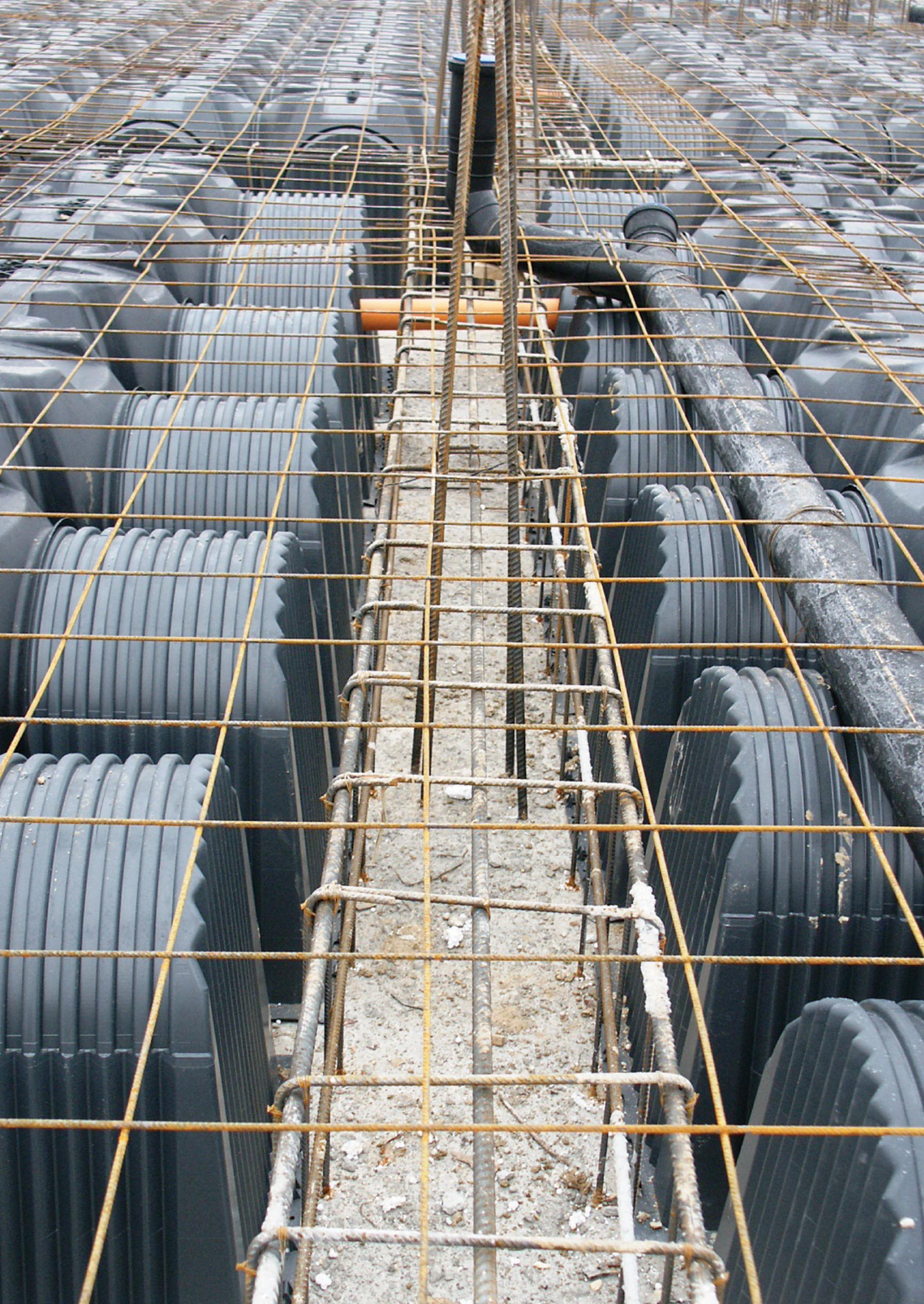 Cofraje pierdute pentru realizarea pardoselilor ventilate monolit GEOPLAST - Poza 1
