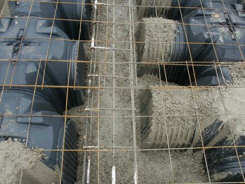 Executie, montaj Cofraje pierdute pentru realizarea pardoselilor ventilate monolit GEOPLAST - Poza 6
