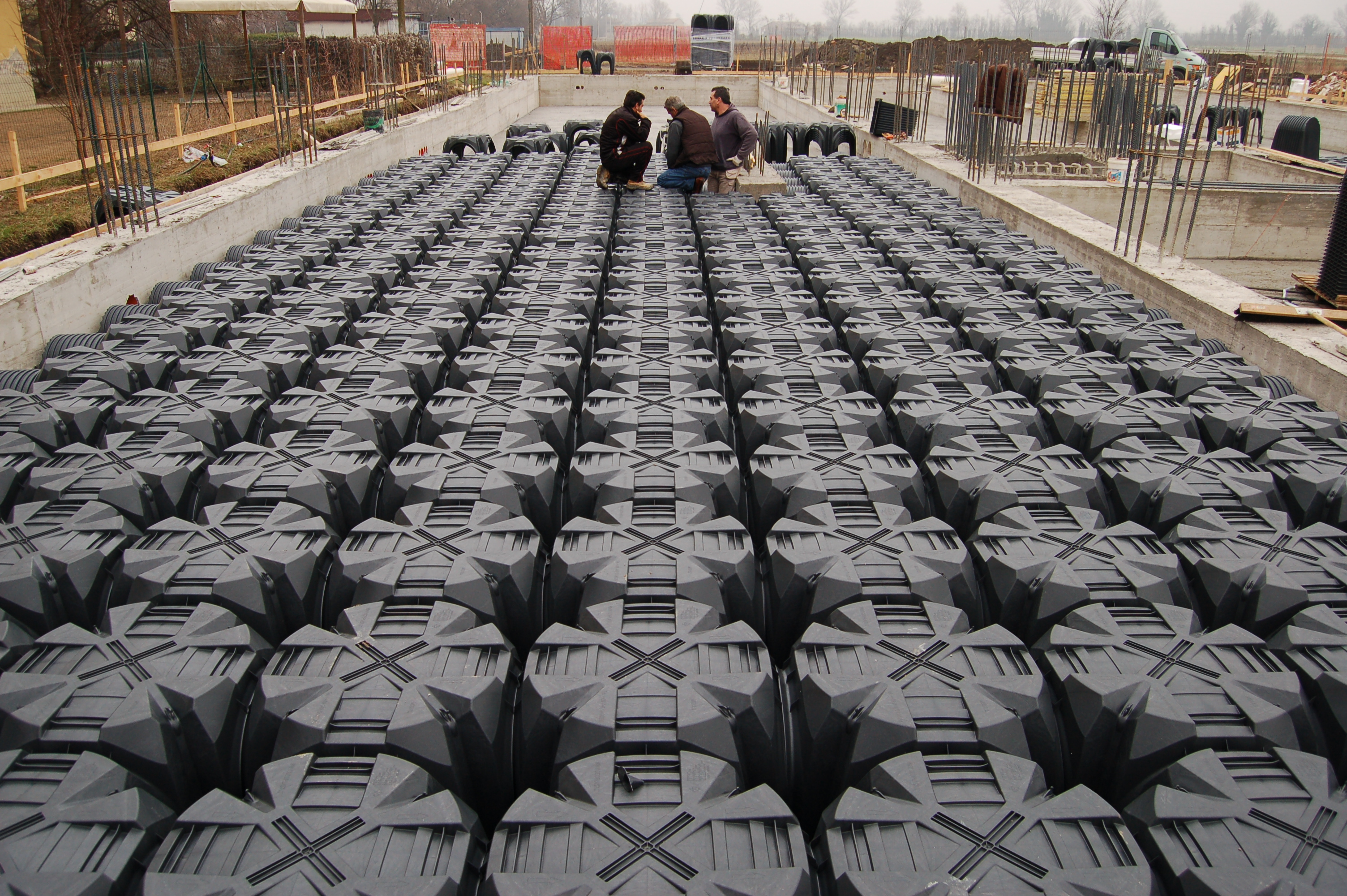 Cofraje pierdute pentru realizarea pardoselilor ventilate monolit GEOPLAST - Poza 7