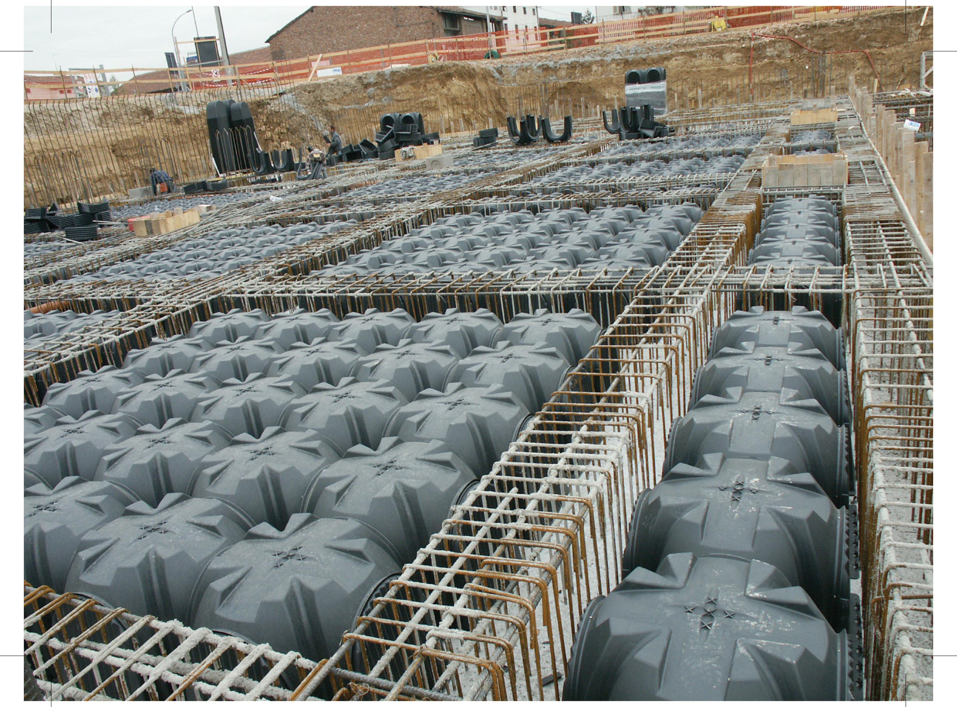 Cofraje pierdute pentru realizarea pardoselilor ventilate monolit GEOPLAST - Poza 12