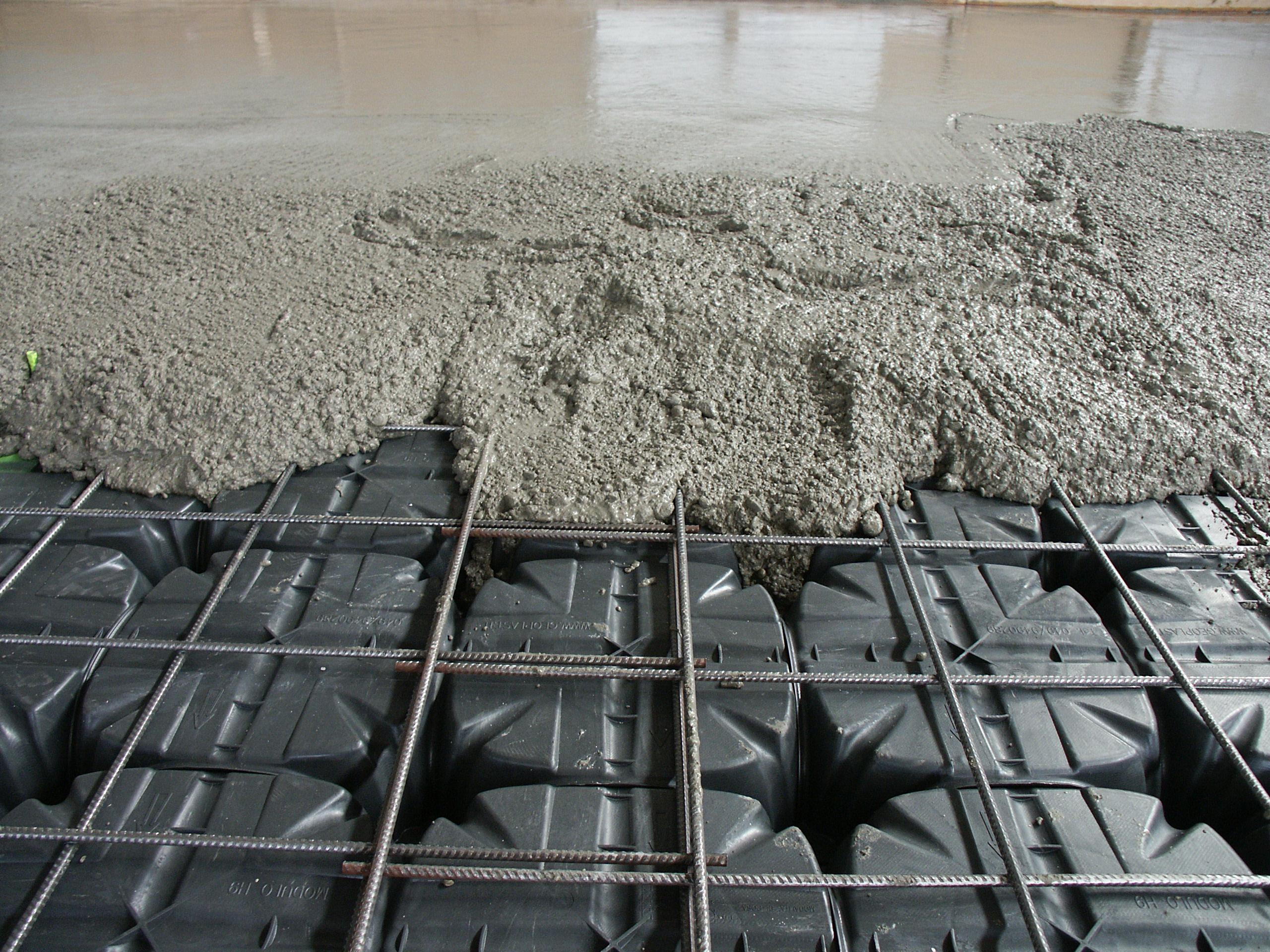 Cofraje pierdute pentru realizarea pardoselilor ventilate monolit GEOPLAST - Poza 21