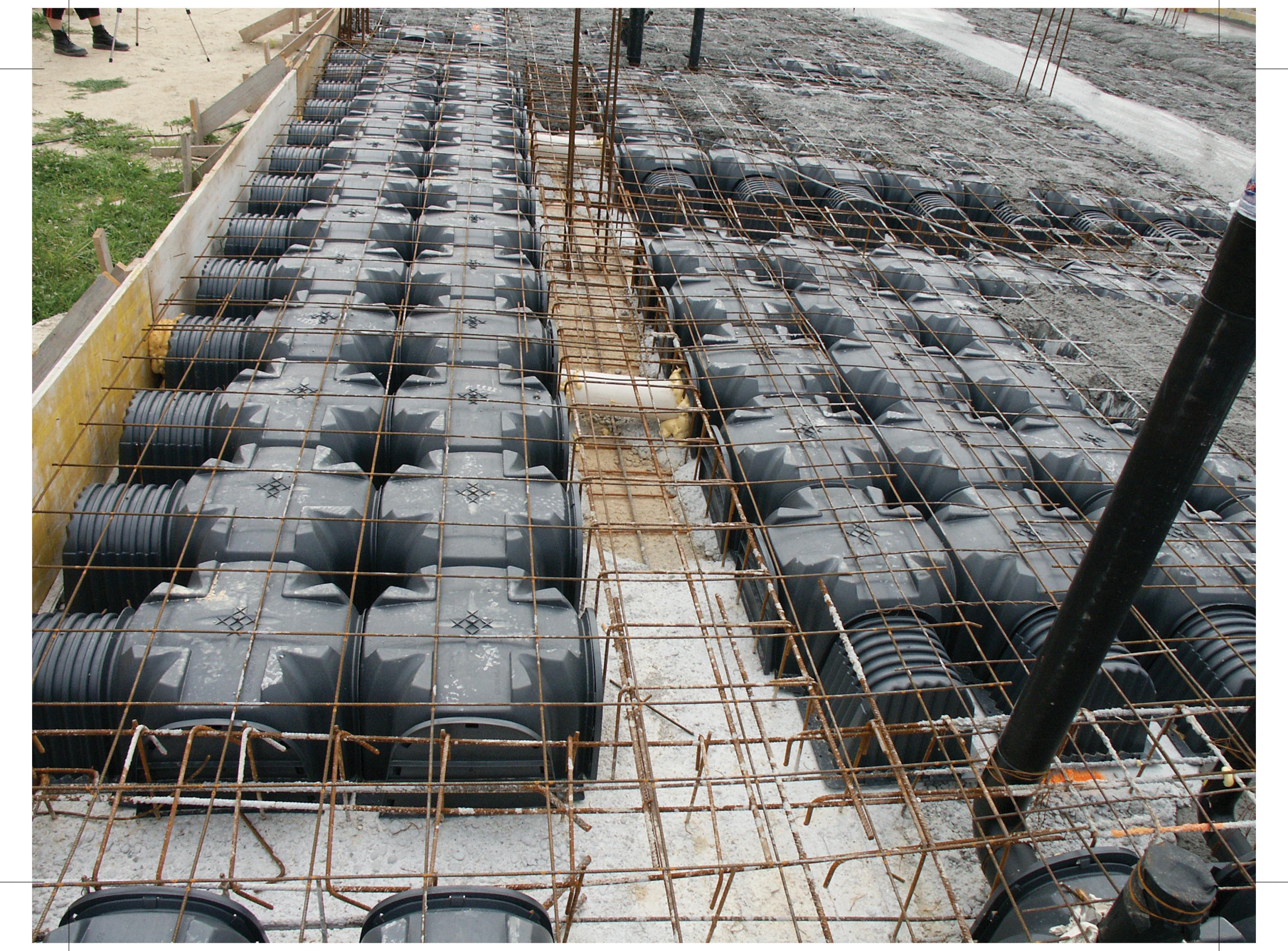 Cofraje pierdute pentru realizarea pardoselilor ventilate monolit GEOPLAST - Poza 23
