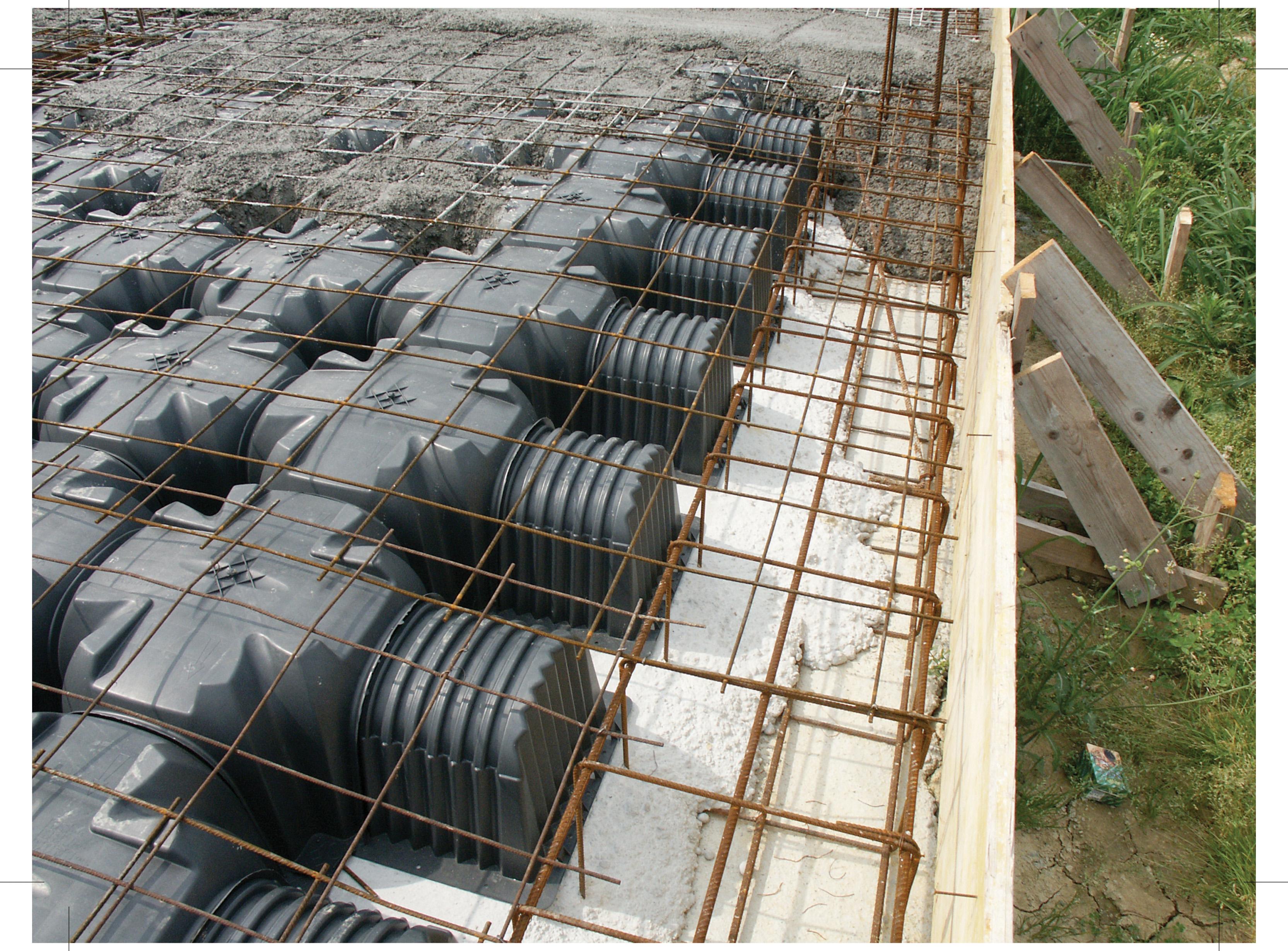 Cofraje pierdute pentru realizarea pardoselilor ventilate monolit GEOPLAST - Poza 32