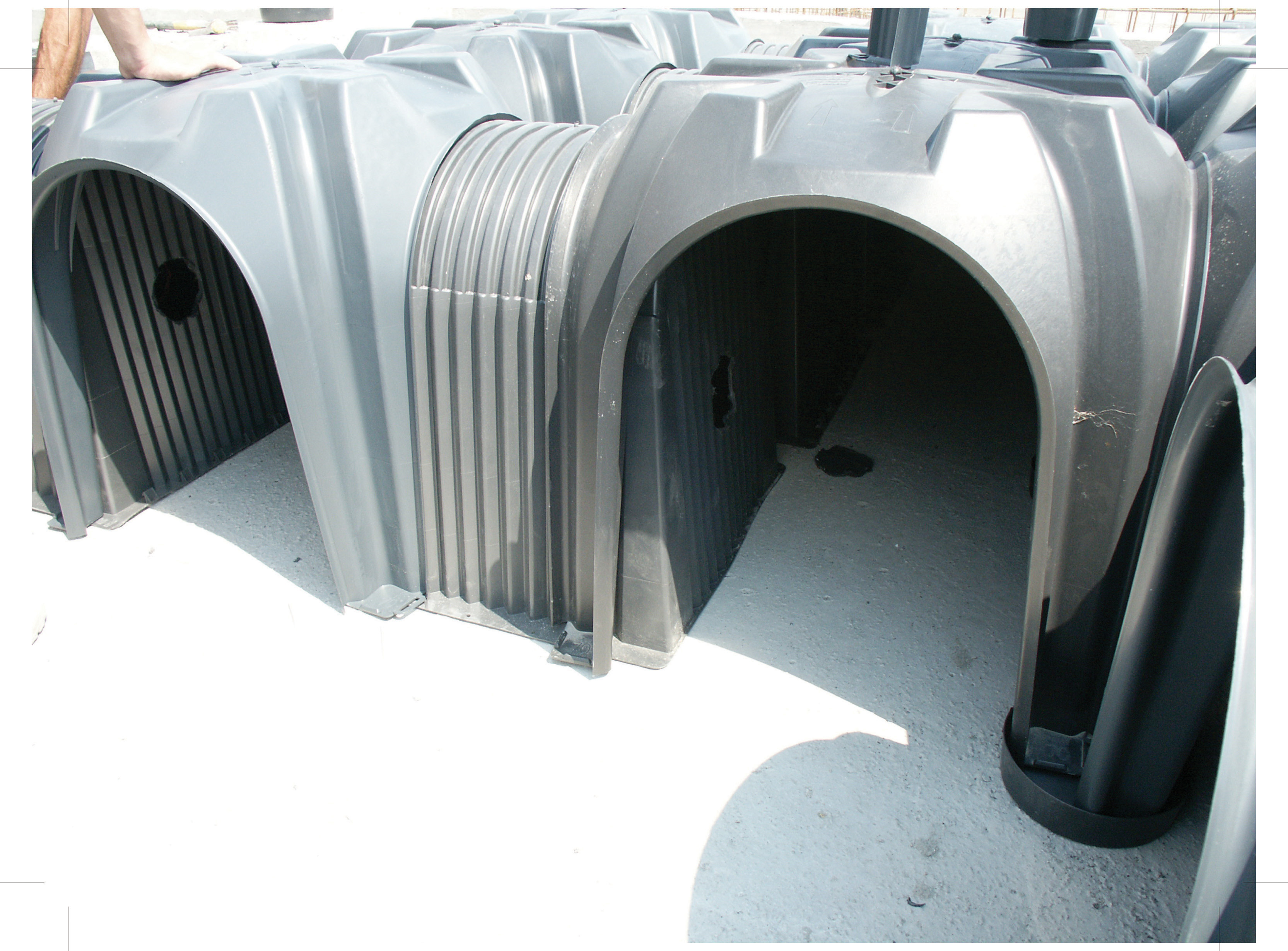 Cofraje pierdute pentru realizarea pardoselilor ventilate monolit GEOPLAST - Poza 34