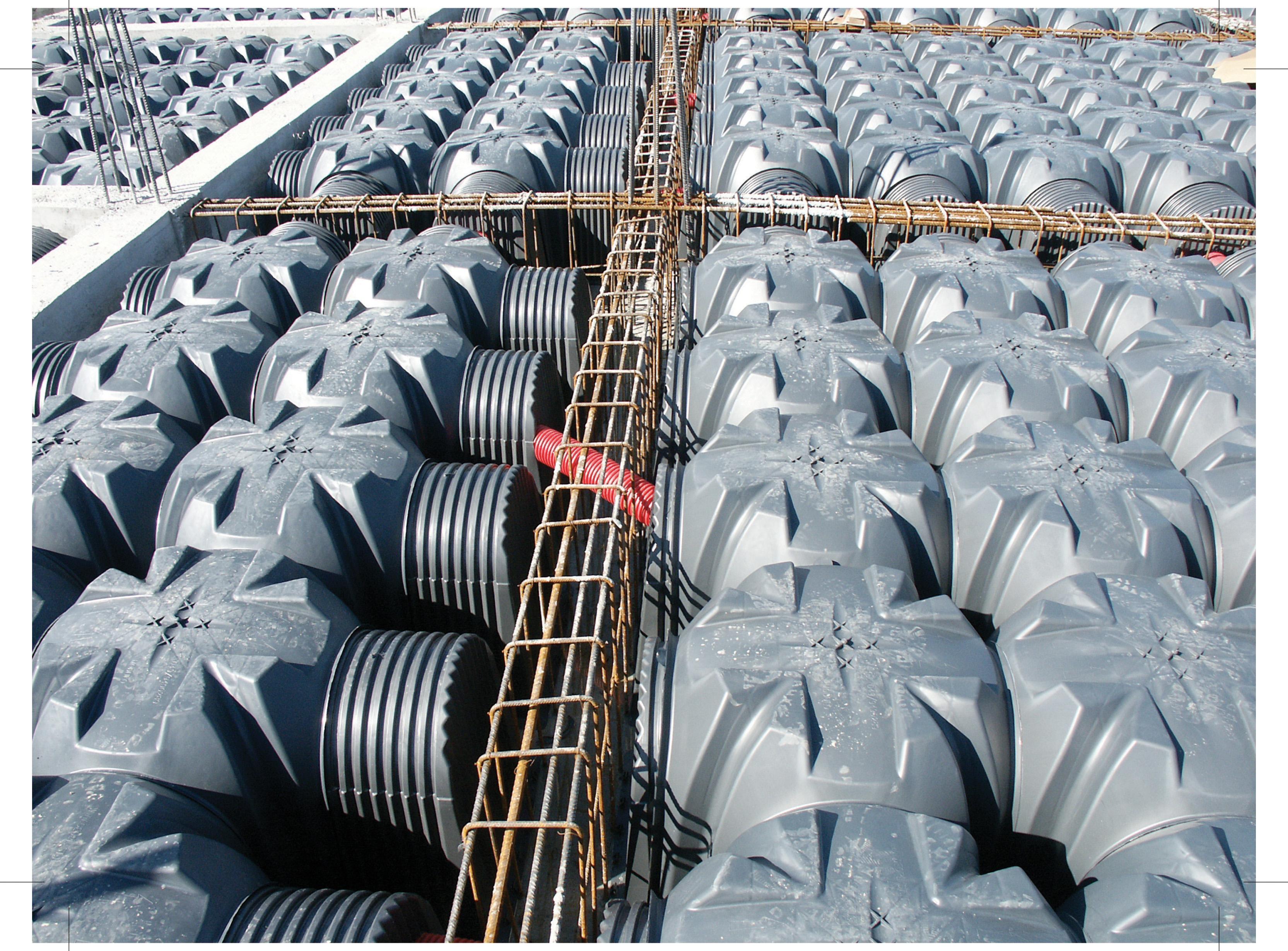 Cofraje pierdute pentru realizarea pardoselilor ventilate monolit GEOPLAST - Poza 35