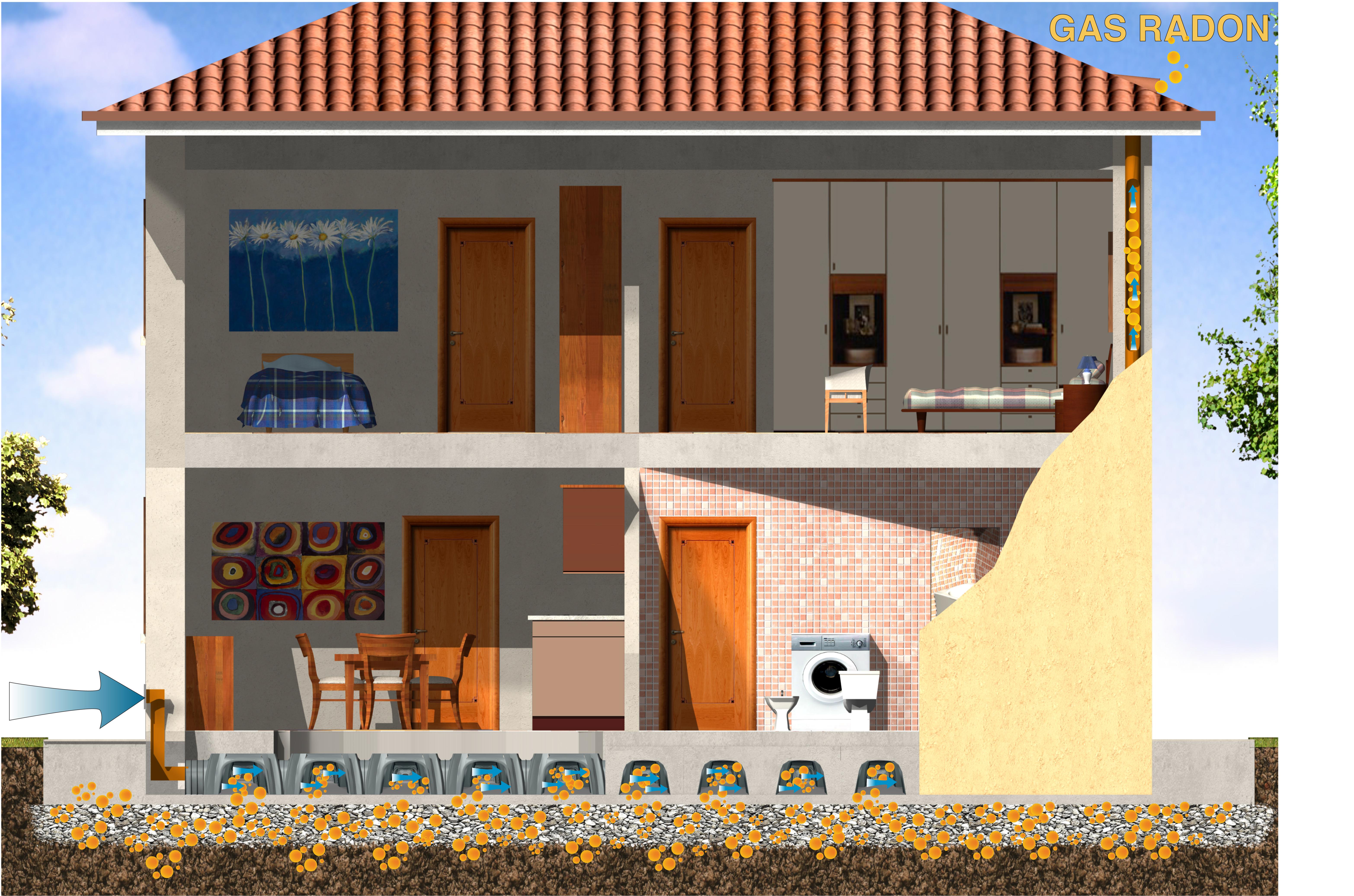 Cofraje pierdute pentru realizarea pardoselilor ventilate monolit - Randari GEOPLAST - Poza 1