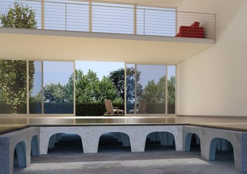 Prezentare produs Cofraje pierdute pentru realizarea pardoselilor ventilate monolit - Randari GEOPLAST - Poza 5