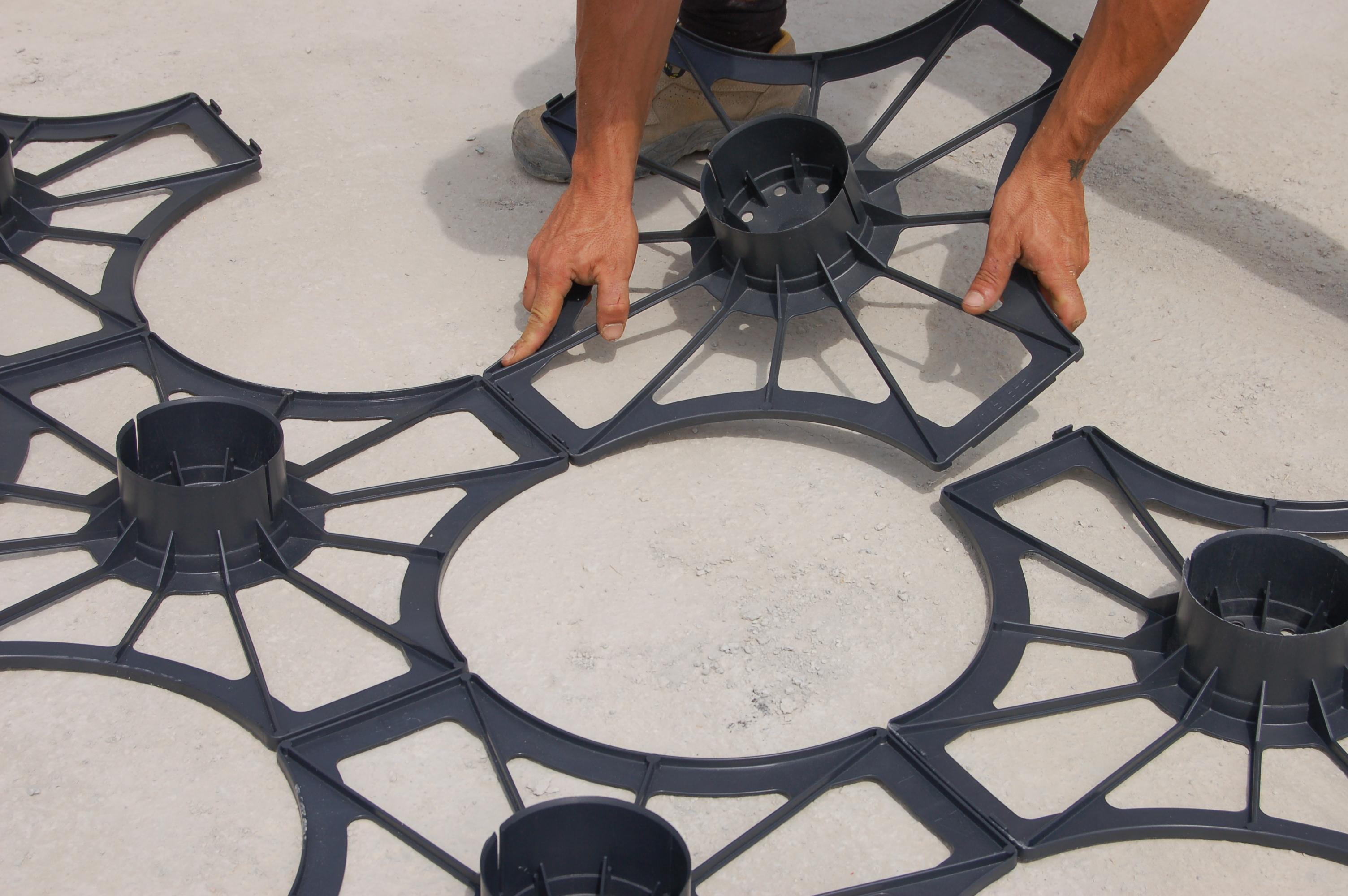 Sistem de cofraje pierdute pentru pardoseli ventilate la cladiri rezidentiale si industriale GEOPLAST - Poza 2