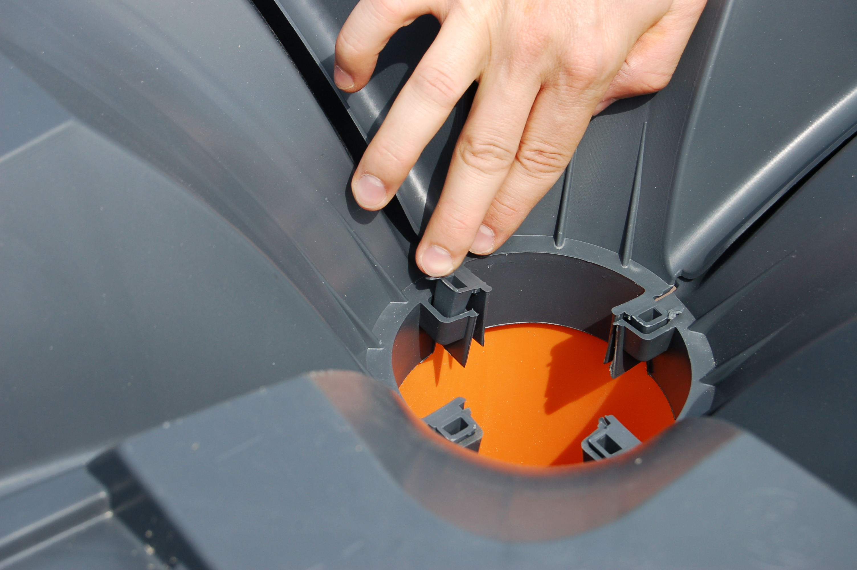 Sistem de cofraje pierdute pentru pardoseli ventilate la cladiri rezidentiale si industriale GEOPLAST - Poza 7