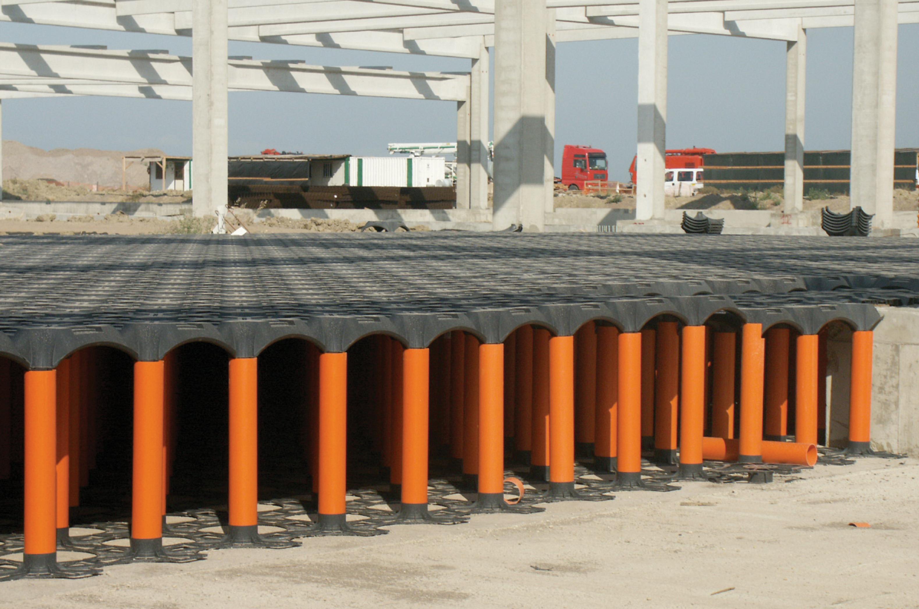 Sistem de cofraje pierdute pentru pardoseli ventilate la cladiri rezidentiale si industriale GEOPLAST - Poza 8