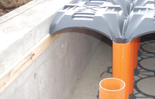 Executie, montaj Sistem de cofraje pierdute pentru pardoseli ventilate la cladiri rezidentiale si industriale GEOPLAST - Poza 13