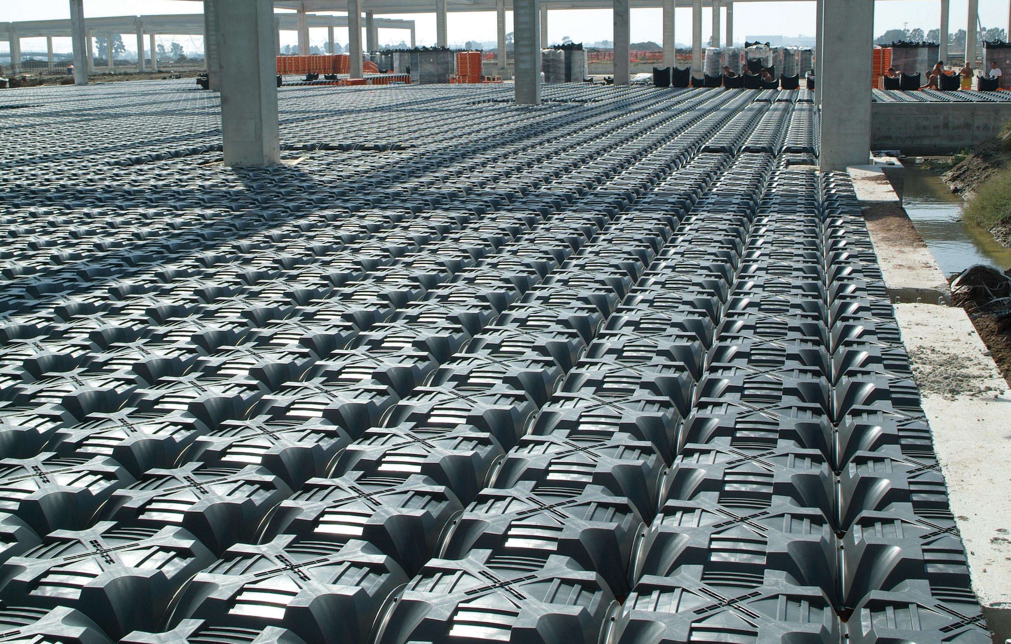 Sistem de cofraje pierdute pentru pardoseli ventilate la cladiri rezidentiale si industriale GEOPLAST - Poza 14