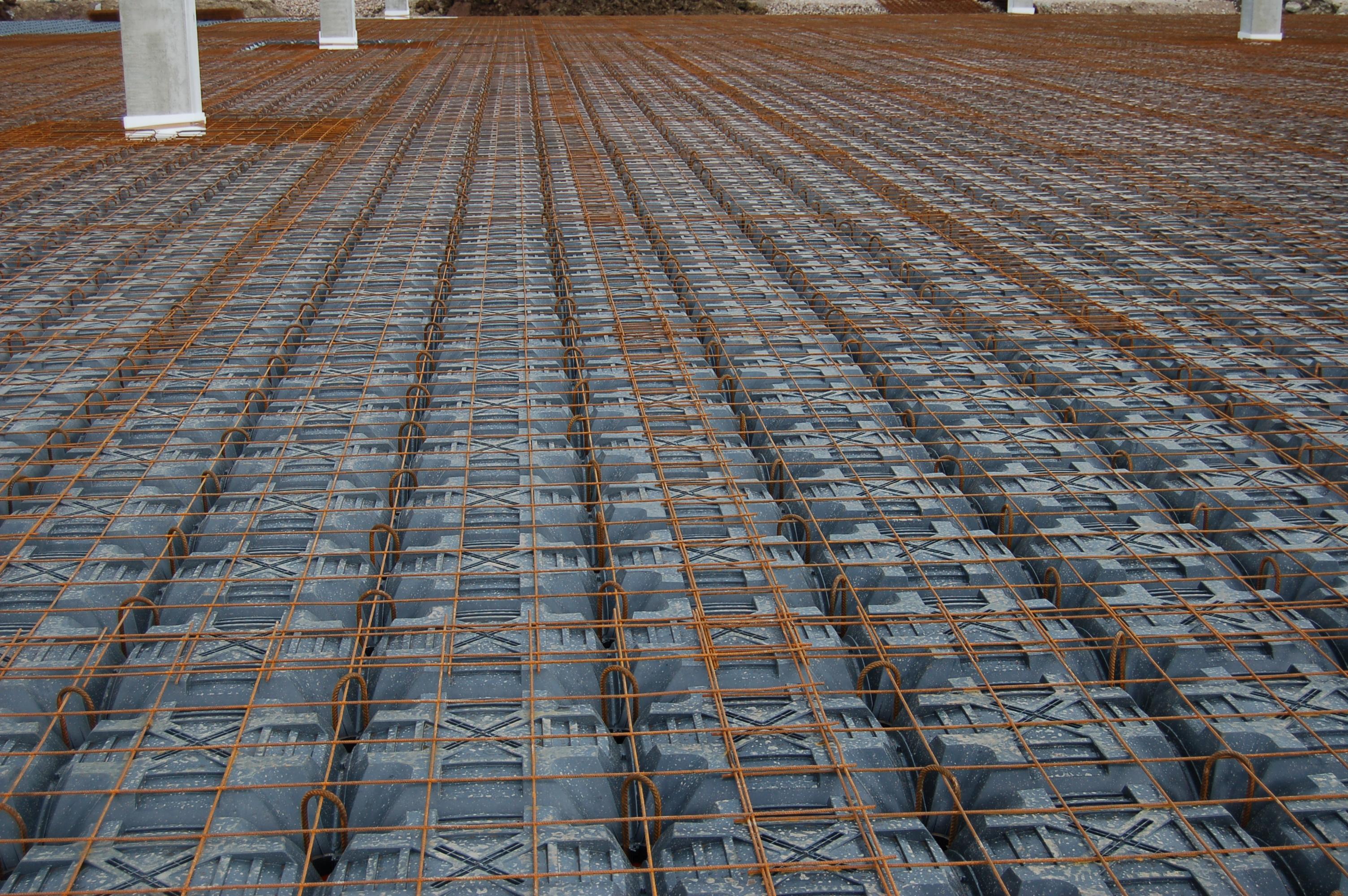 Sistem de cofraje pierdute pentru pardoseli ventilate la cladiri rezidentiale si industriale GEOPLAST - Poza 19