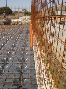Executie, montaj Sistem de cofraje pierdute pentru pardoseli ventilate la cladiri rezidentiale si industriale GEOPLAST - Poza 20