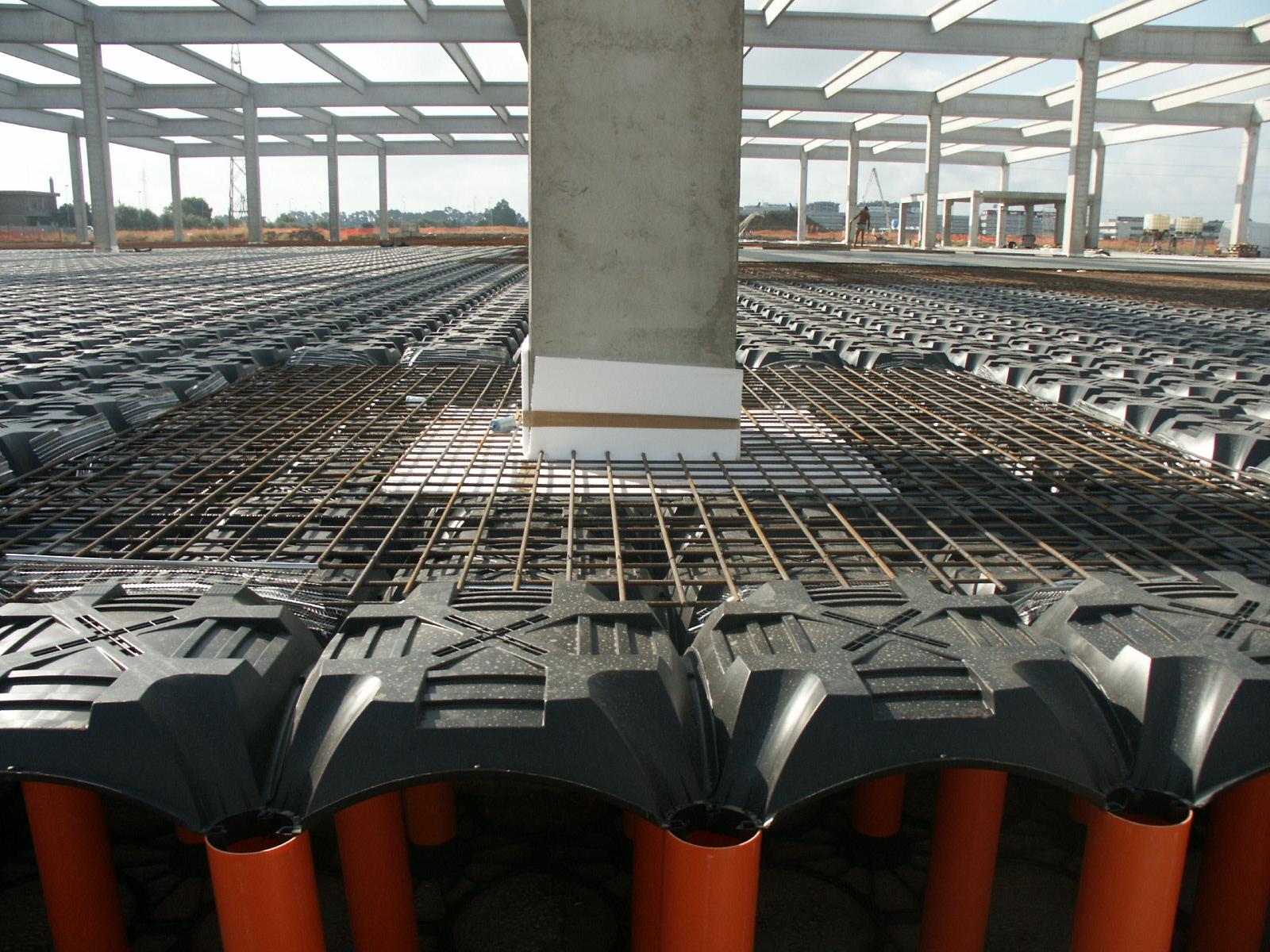 Sistem de cofraje pierdute pentru pardoseli ventilate la cladiri rezidentiale si industriale GEOPLAST - Poza 22