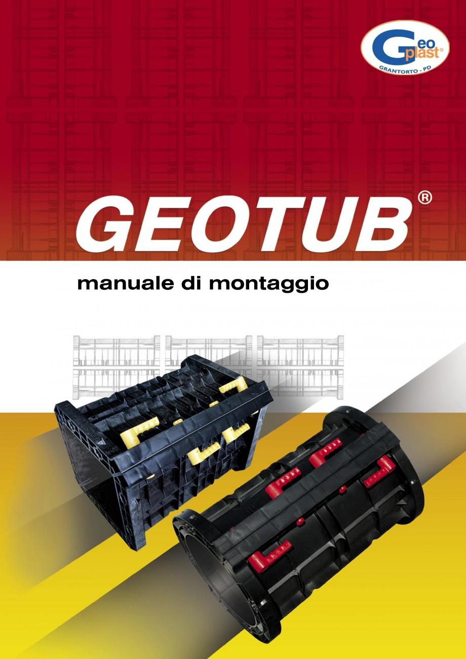 Pagina 1 - Cofraj refolosibil pentru coloane cilindrice GEOPLAST GEOTUB®, GEOTUB PANEL...